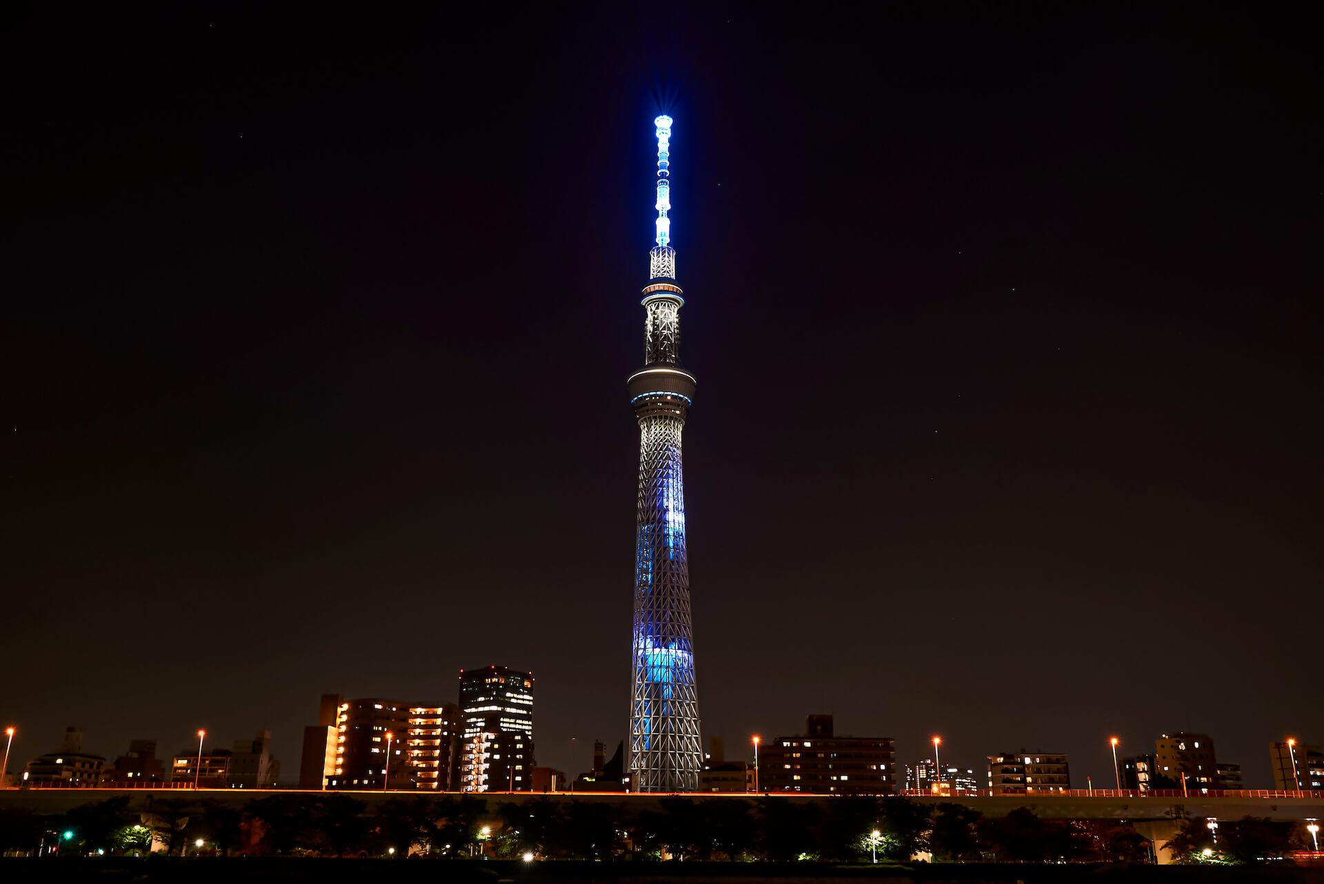 米津玄師ニューシングル『Pale Blue』発売記念で東京スカイツリーの特別ライティング&展望台でのMV上映が決定! music210611_yonezukenshi_5