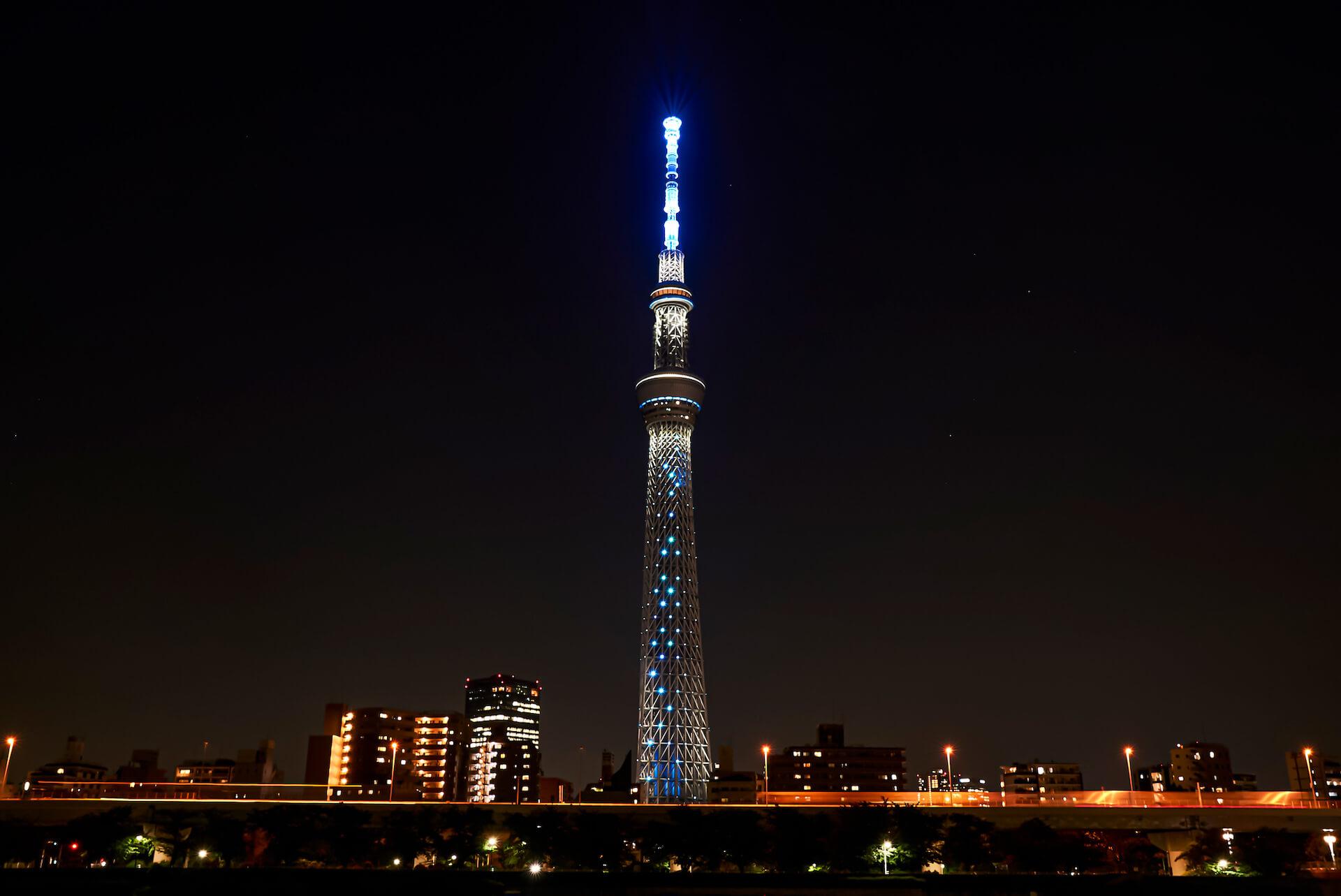 米津玄師ニューシングル『Pale Blue』発売記念で東京スカイツリーの特別ライティング&展望台でのMV上映が決定! music210611_yonezukenshi_11