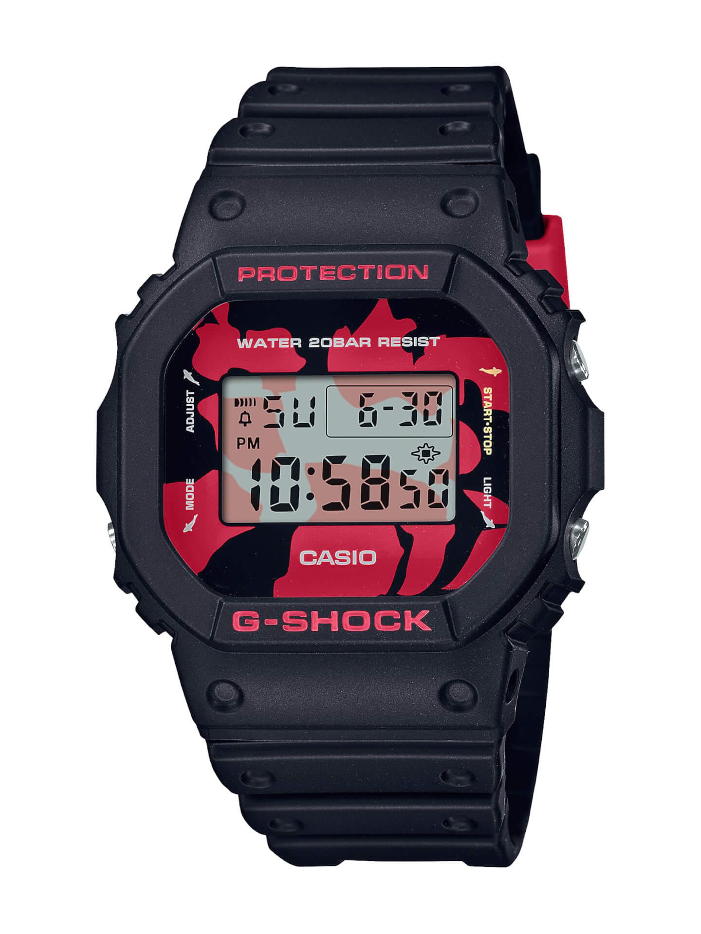 錦鯉をモチーフにしたG-SHOCK3種が発売決定!DW-6900、GA-100、DW-5600の3モデルがベース life210614_gshock_nishikigoi_9