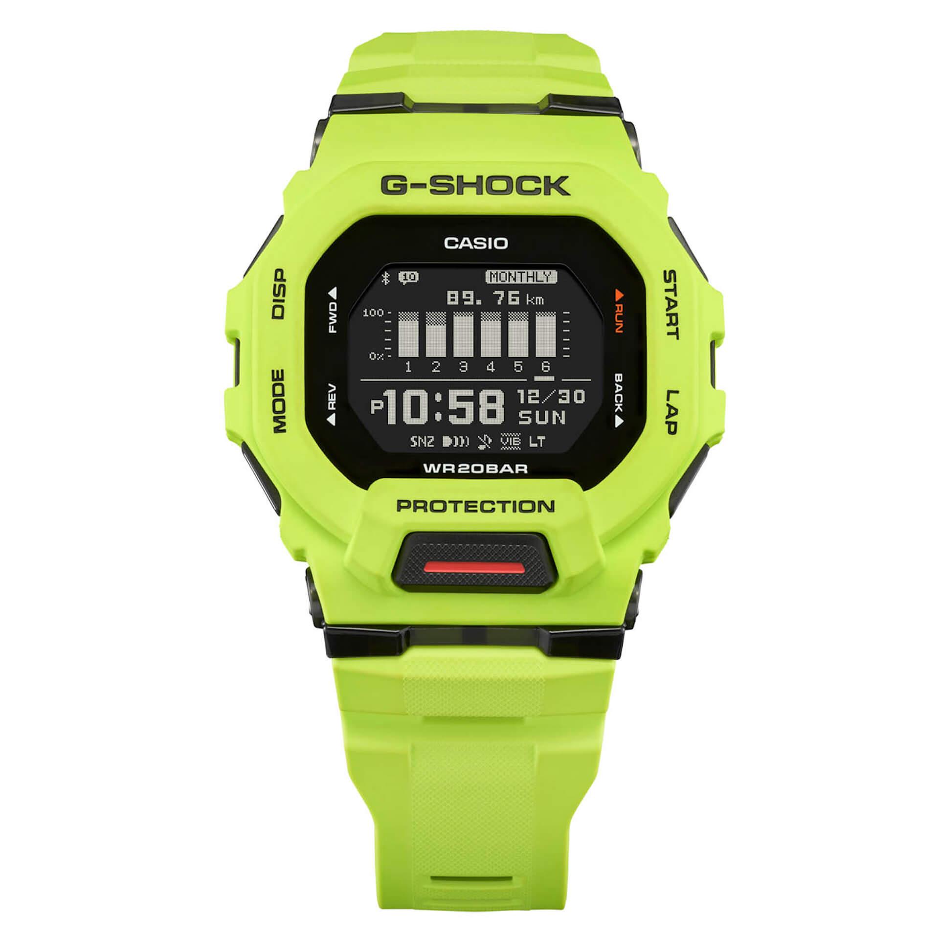 G-SHOCK「G-SQUAD」の角型ケース採用モデルに新製品『GBD-200』が登場! tech210615_gshock_gsquad_2