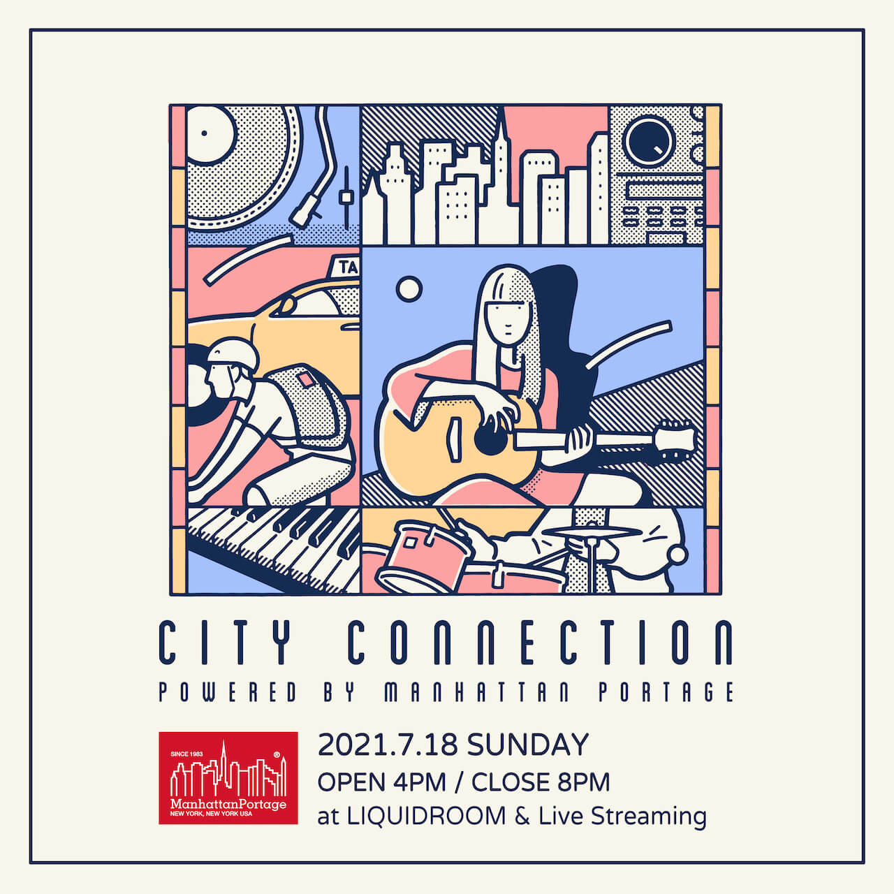 D.A.N.、向井太一、Ryohuらが出演!<City Connection powered by Manhattan Portage>ラインナップ徹底解剖! music210623_city-connection_1