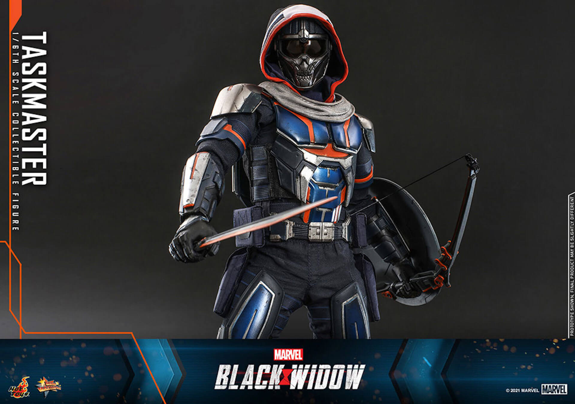 マーベル・スタジオ『ブラック・ウィドウ』のブラック・ウィドウ&タスクマスターがホットトイズの1/6スケールフィギュアになって登場! art210618_hottoys_blackwidow_2