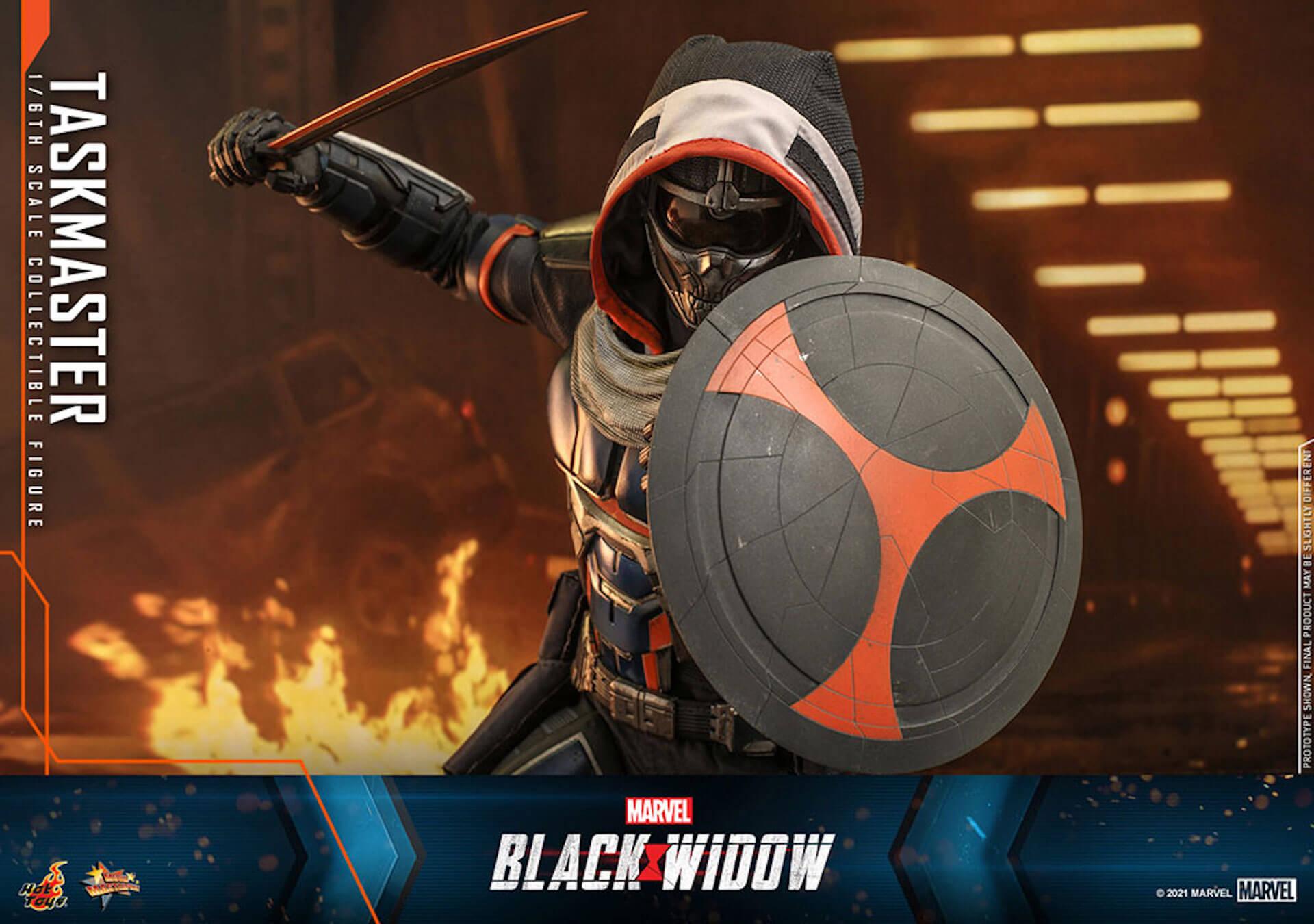 マーベル・スタジオ『ブラック・ウィドウ』のブラック・ウィドウ&タスクマスターがホットトイズの1/6スケールフィギュアになって登場! art210618_hottoys_blackwidow_3