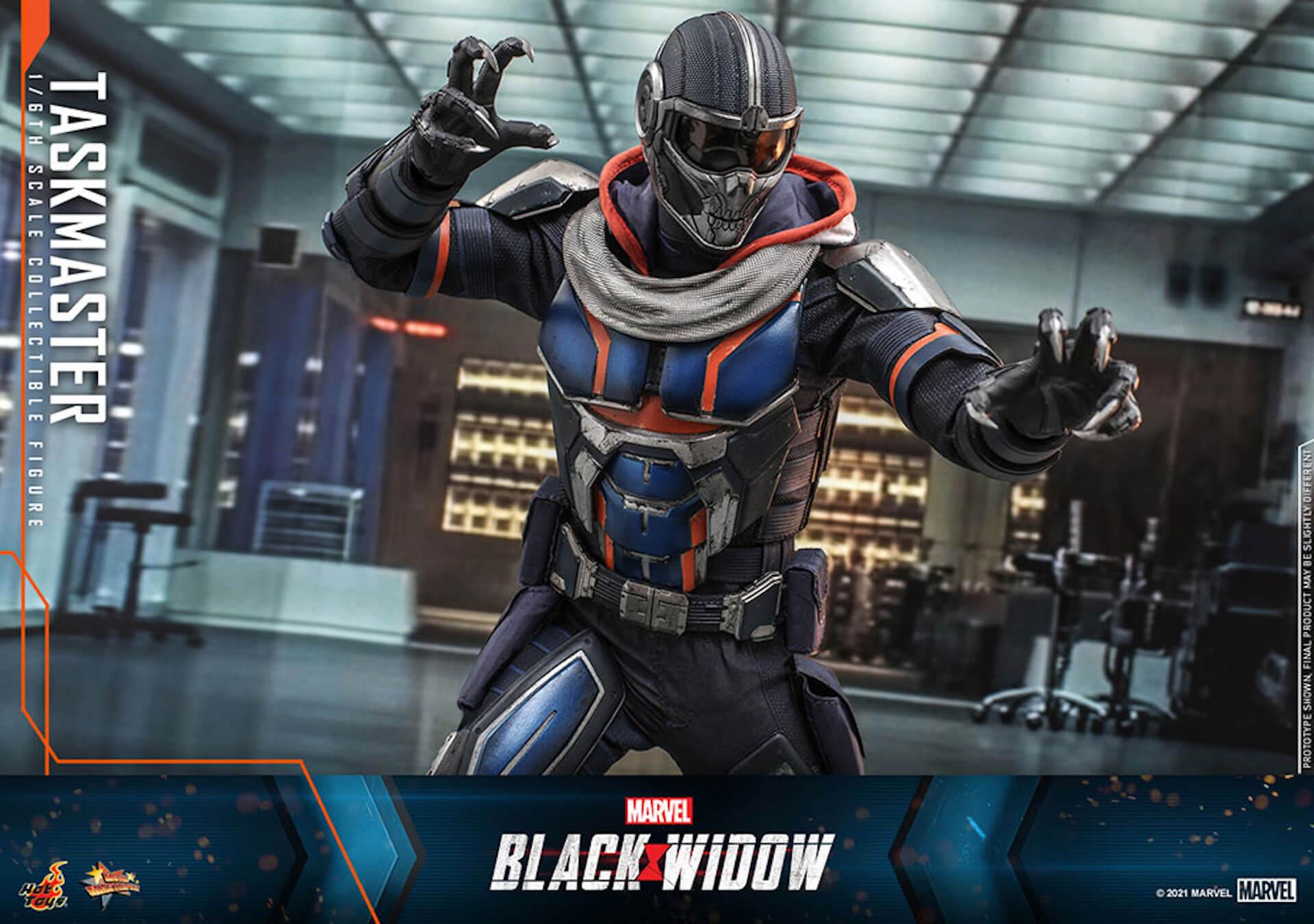 マーベル・スタジオ『ブラック・ウィドウ』のブラック・ウィドウ&タスクマスターがホットトイズの1/6スケールフィギュアになって登場! art210618_hottoys_blackwidow_5