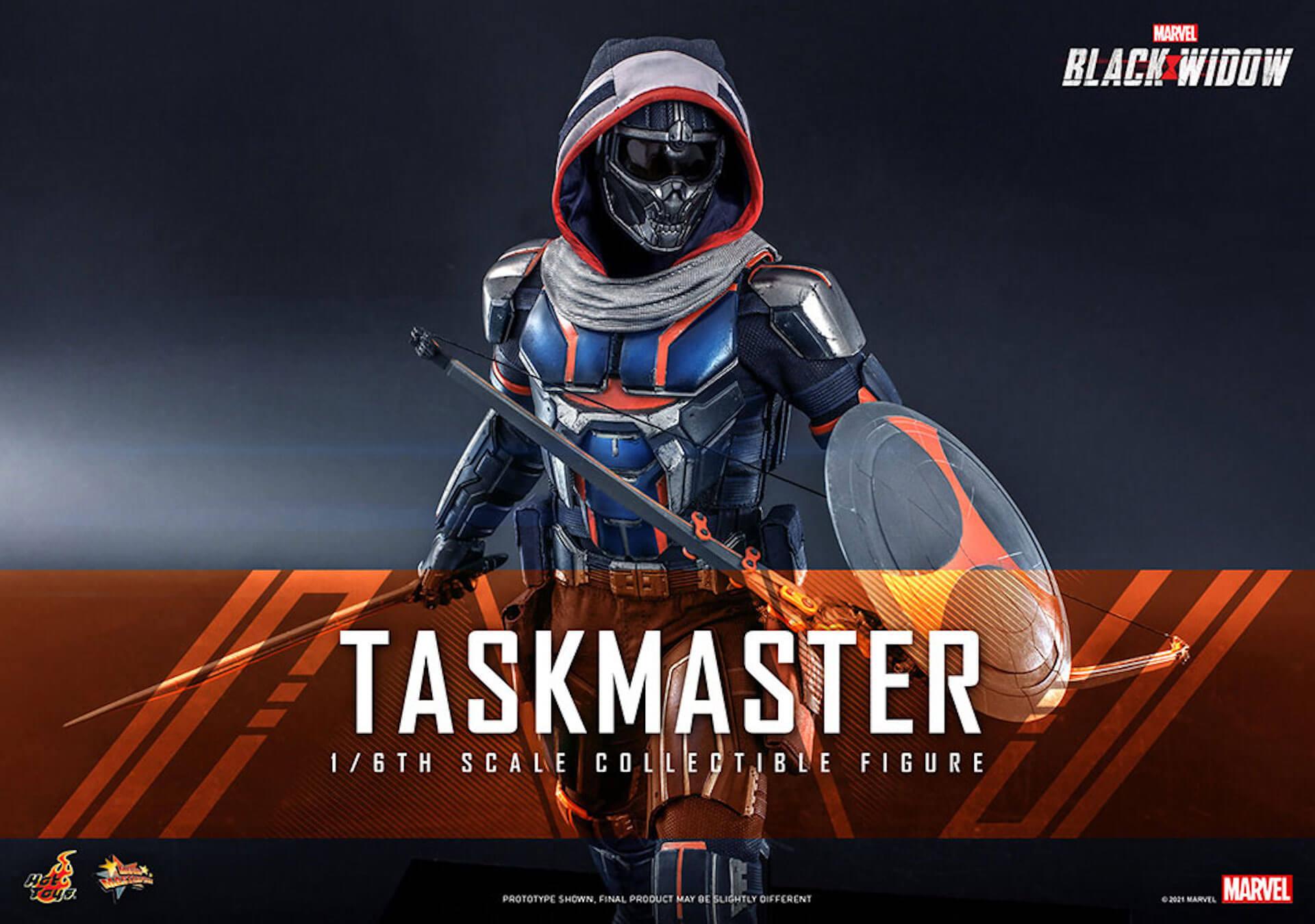 マーベル・スタジオ『ブラック・ウィドウ』のブラック・ウィドウ&タスクマスターがホットトイズの1/6スケールフィギュアになって登場! art210618_hottoys_blackwidow_8