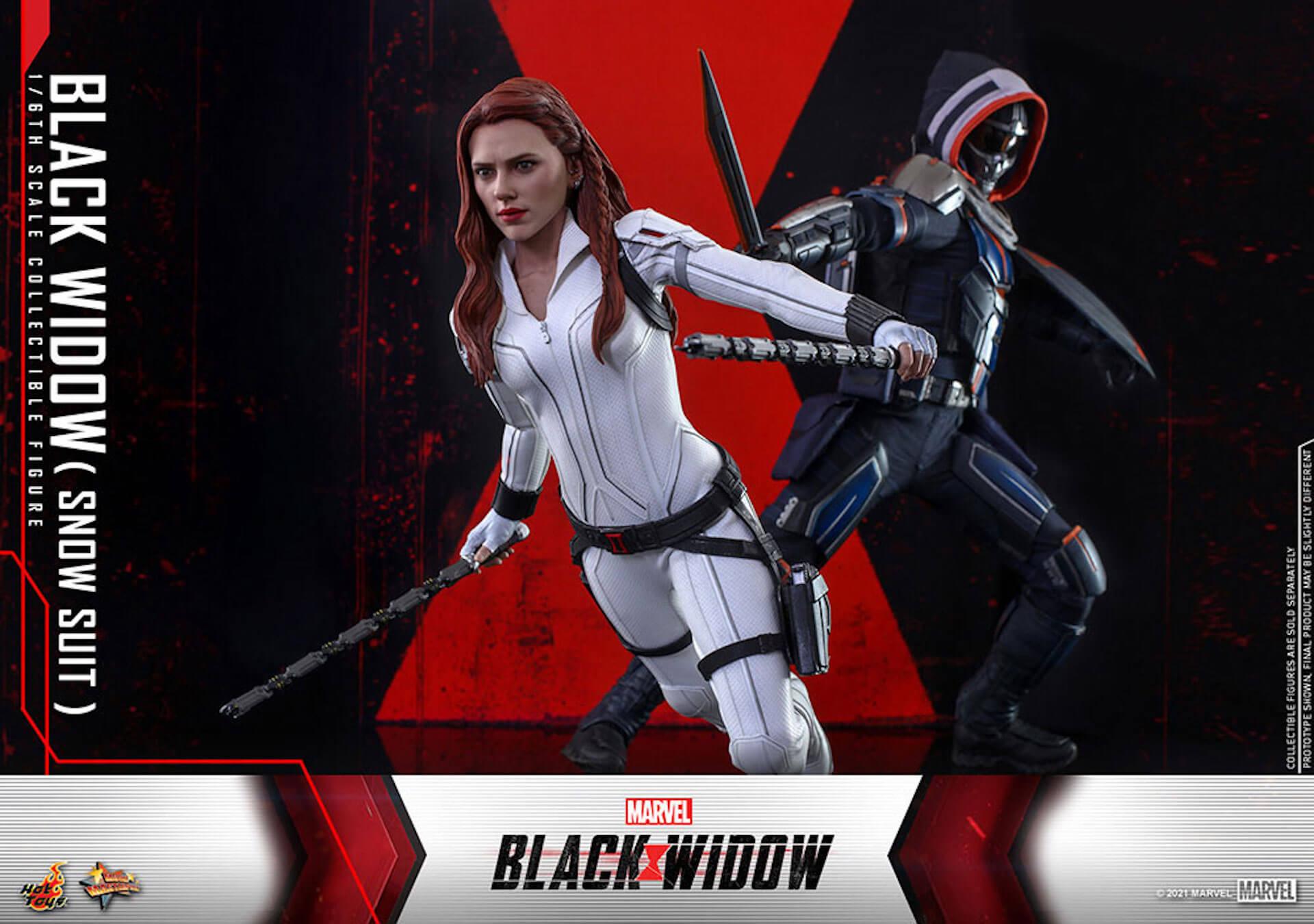 マーベル・スタジオ『ブラック・ウィドウ』のブラック・ウィドウ&タスクマスターがホットトイズの1/6スケールフィギュアになって登場! art210618_hottoys_blackwidow_9