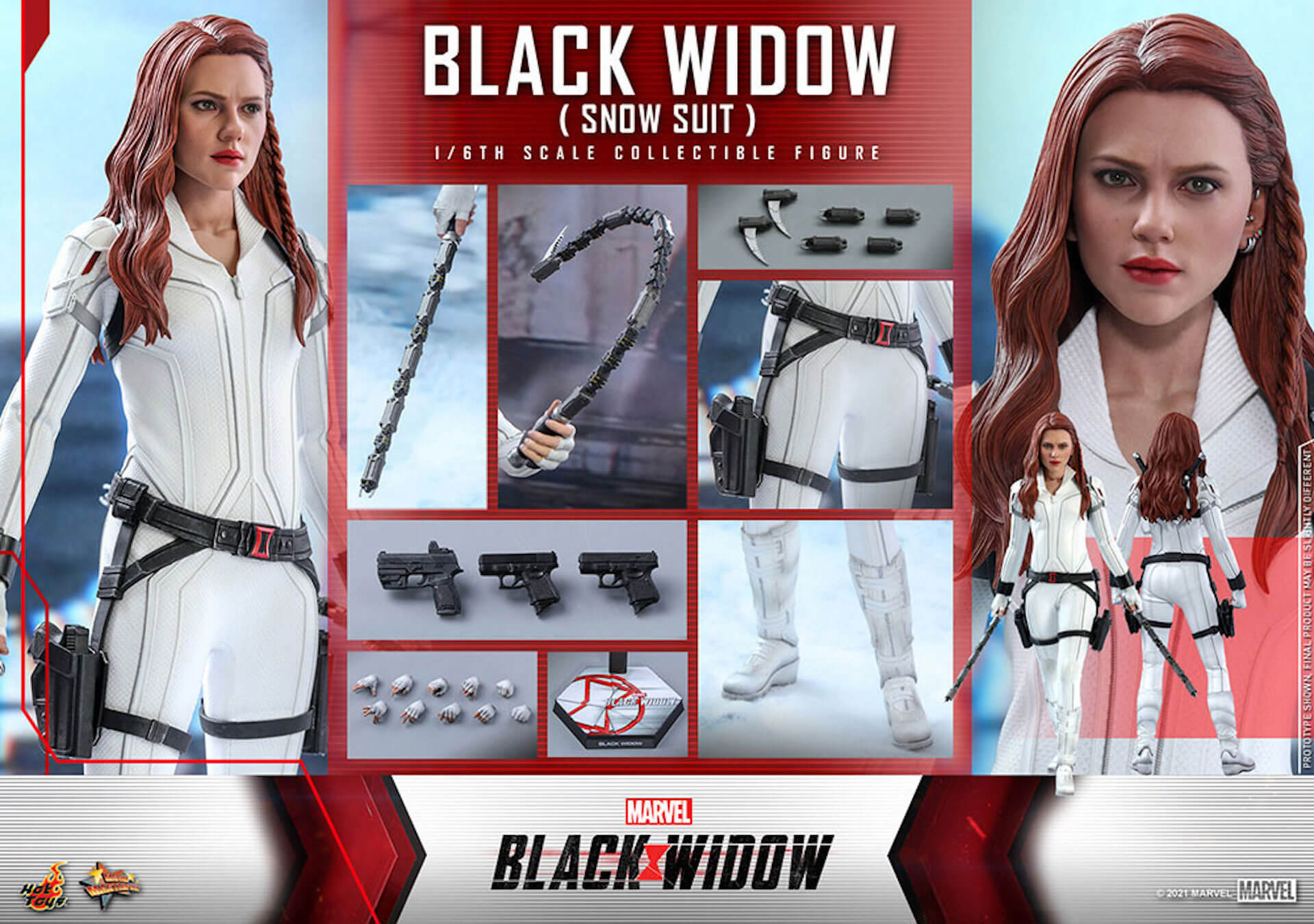 マーベル・スタジオ『ブラック・ウィドウ』のブラック・ウィドウ&タスクマスターがホットトイズの1/6スケールフィギュアになって登場! art210618_hottoys_blackwidow_10