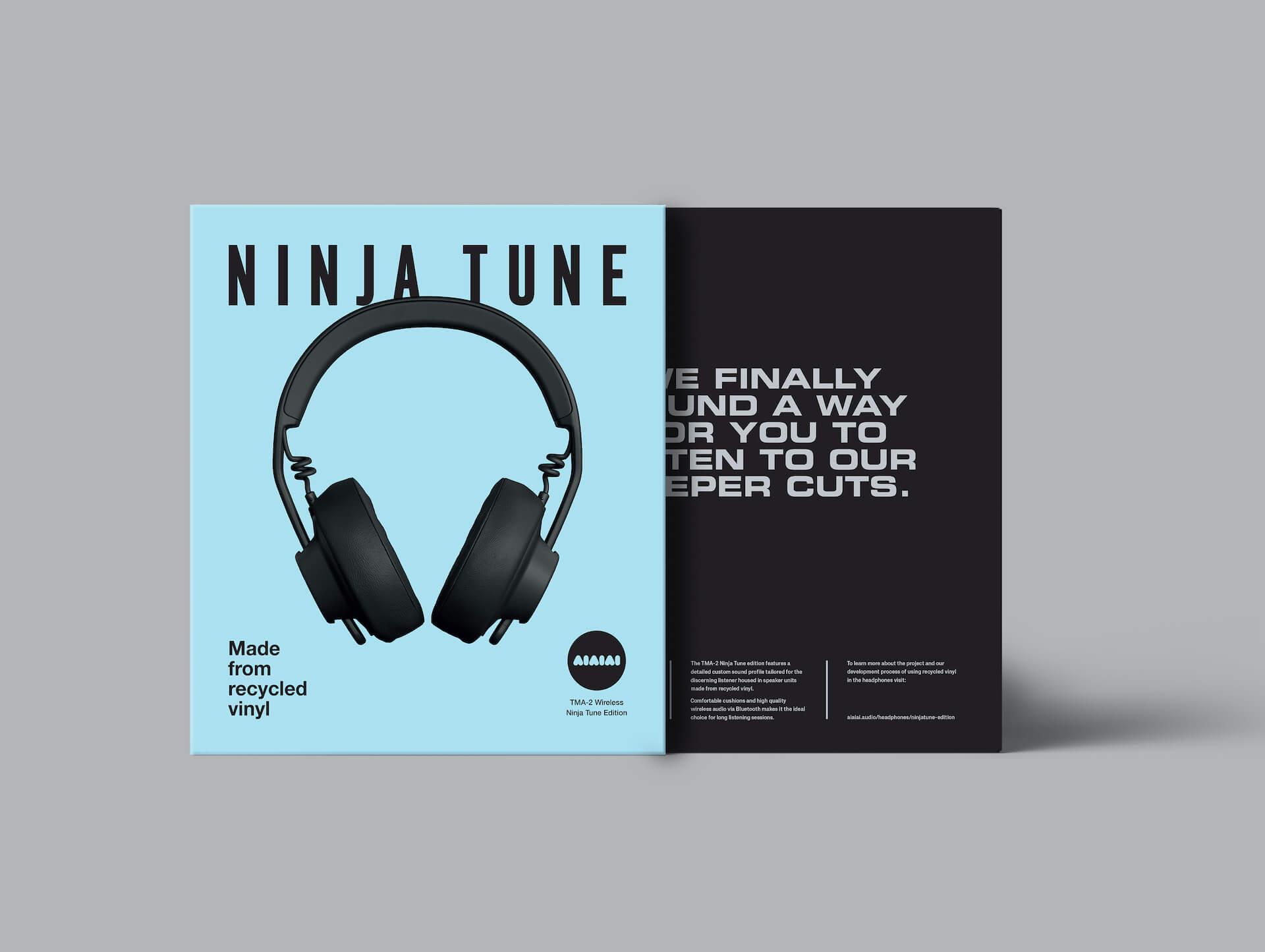 〈Ninja Tune〉とAiAiAiのコラボヘッドホン「TMA-2 Ninja Tune Edition」が本日発売! tech210618_ninjatune_aiaiai_4
