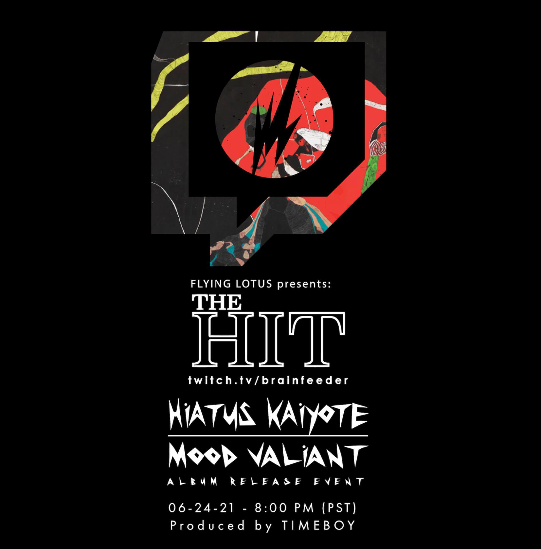 "Hiatus Kaiyote最新作『Mood Valiant』の先行配信曲""Get Sun(feat. Arthur Verocai)""のMVが公開! music210623_hiatuskaiyote_1"