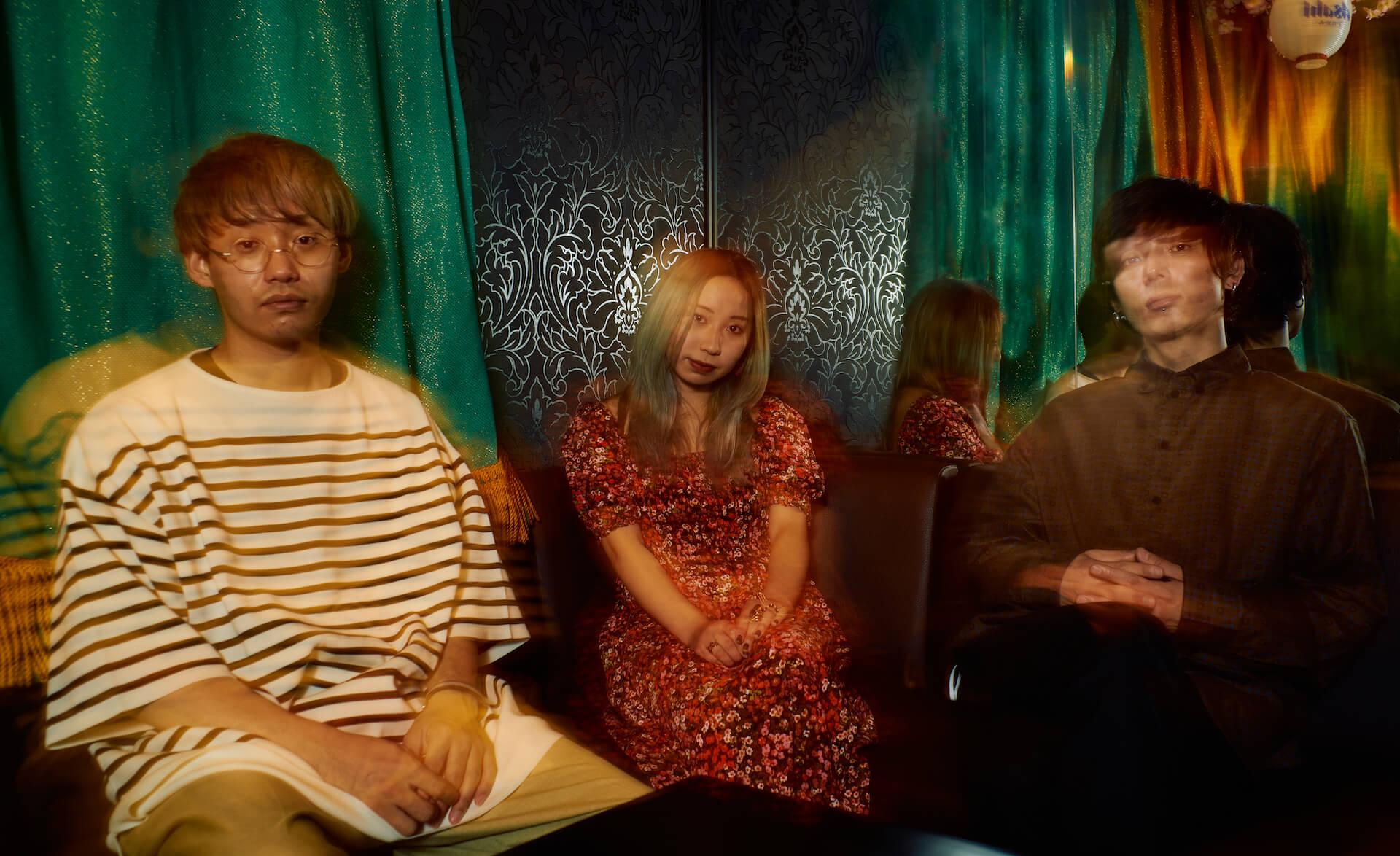 """サブプロジェクトから「3人のバンド」へ——きのこ帝国・西村""""コン""""擁するバンド add インタビュー interview210521_add-01-1"""