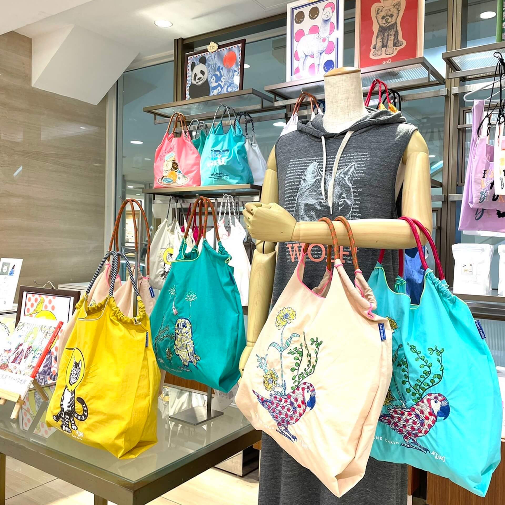 D[di:]が人気エコバッグブランドBall&Chainとコラボし、ポップアップショップツアー<D[di:]goods pop up×Ball&Chain>を展開! fashion210624_Dpopup7