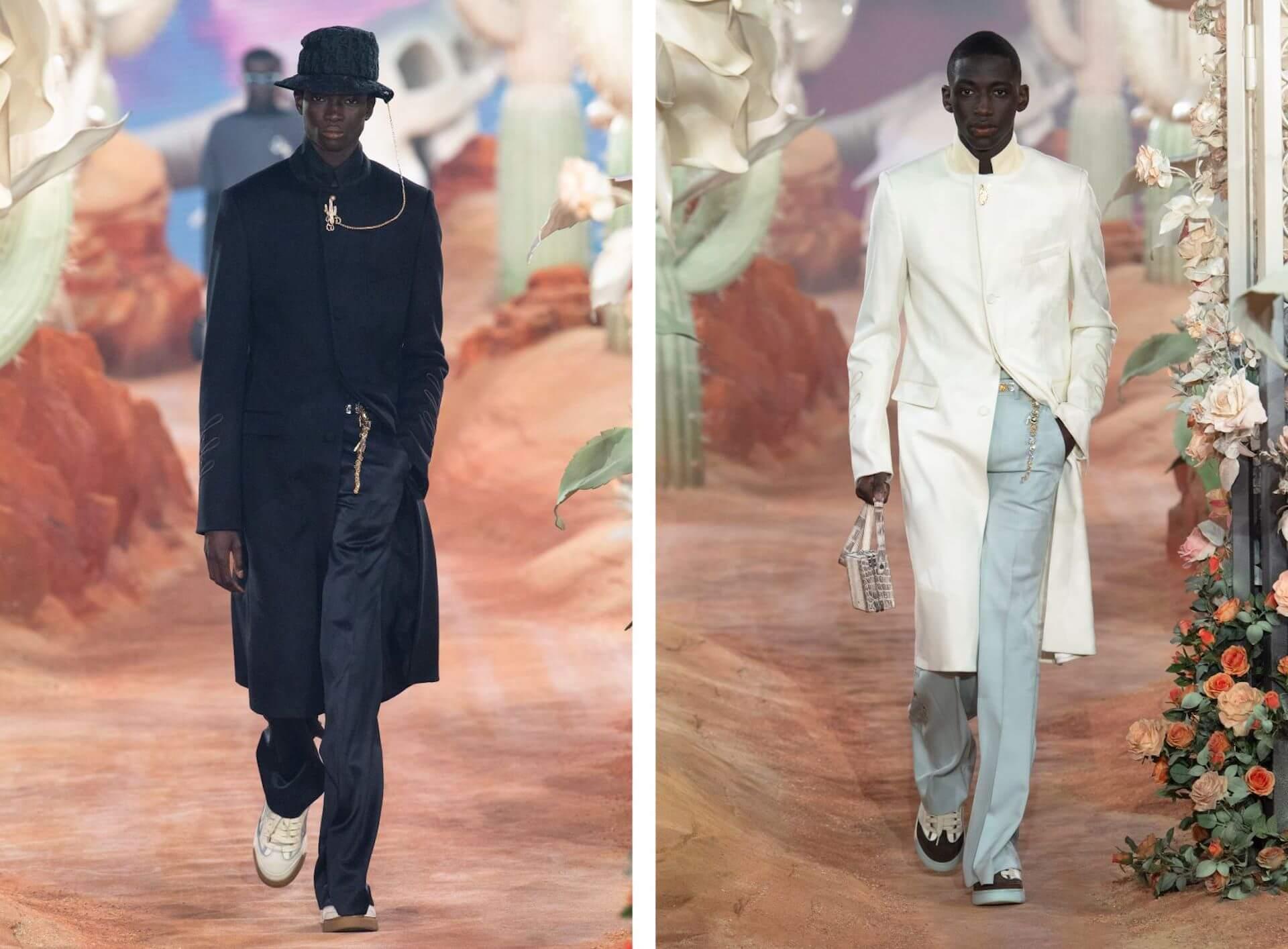 DiorがTravis Scottとコラボレーションし、サマー2022メンズコレクション ショーを開催! Fashion210625_Dior2