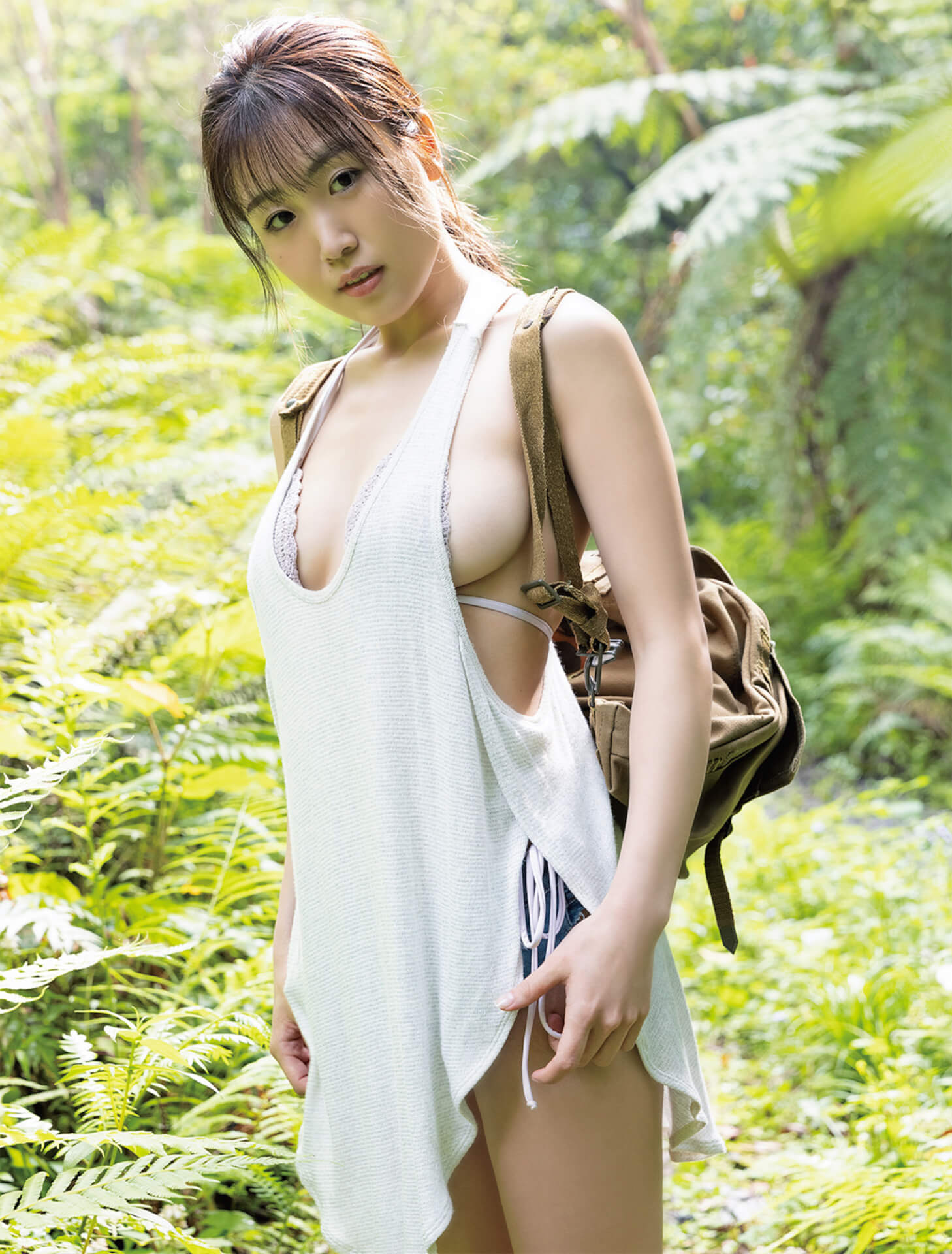 1st写真集『はるか』を発売するHARUKAが『週刊SPA!』でこぼれそうな横乳カットを大胆披露!表紙にも登場 art210629_cyberjapandancers_haruka_1