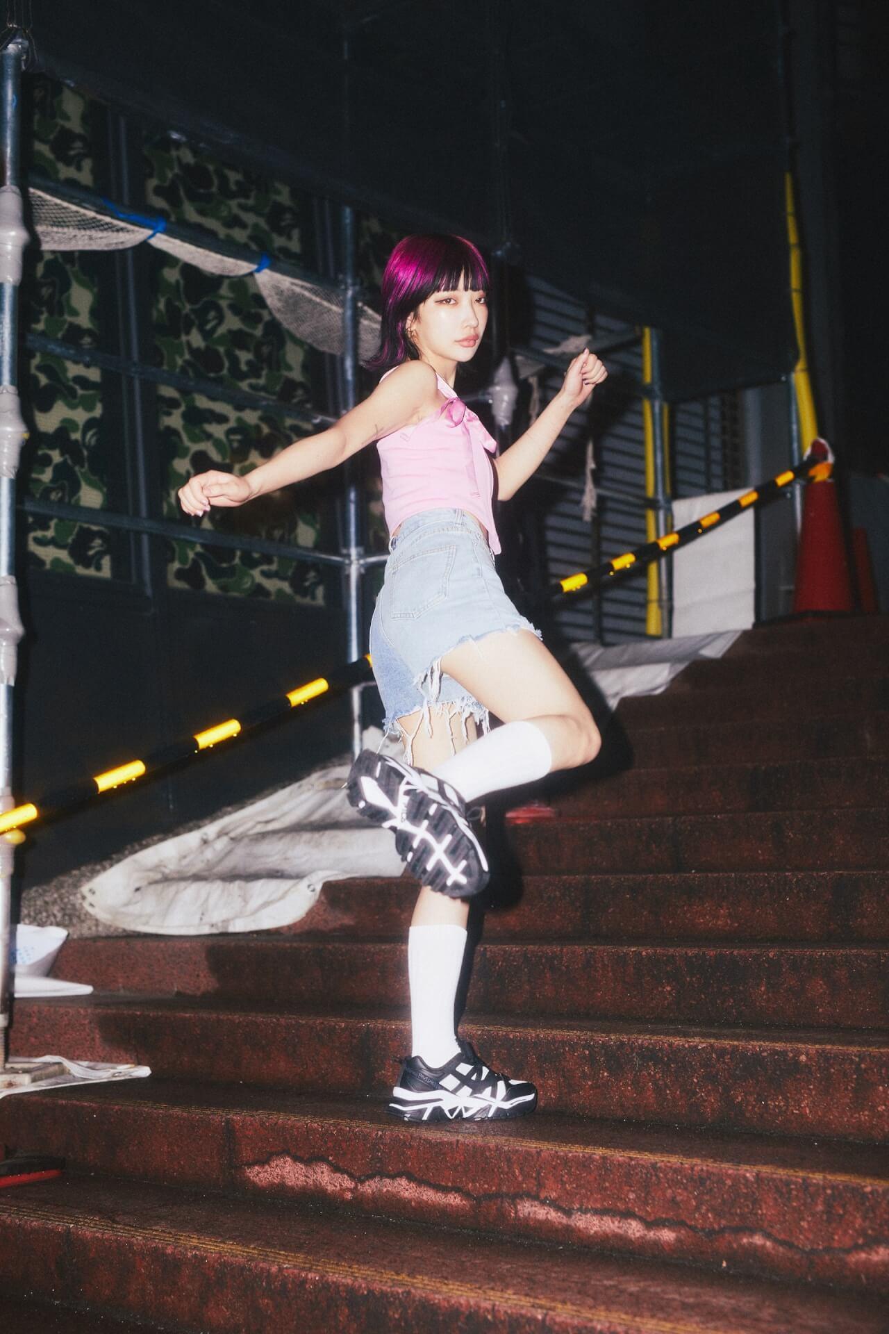 KATY×FILA×atmos pinkトリプルコラボの『Z BUFFER 2』が発売決定!KATYとチェキ撮影イベントも Fashion210629_katy20