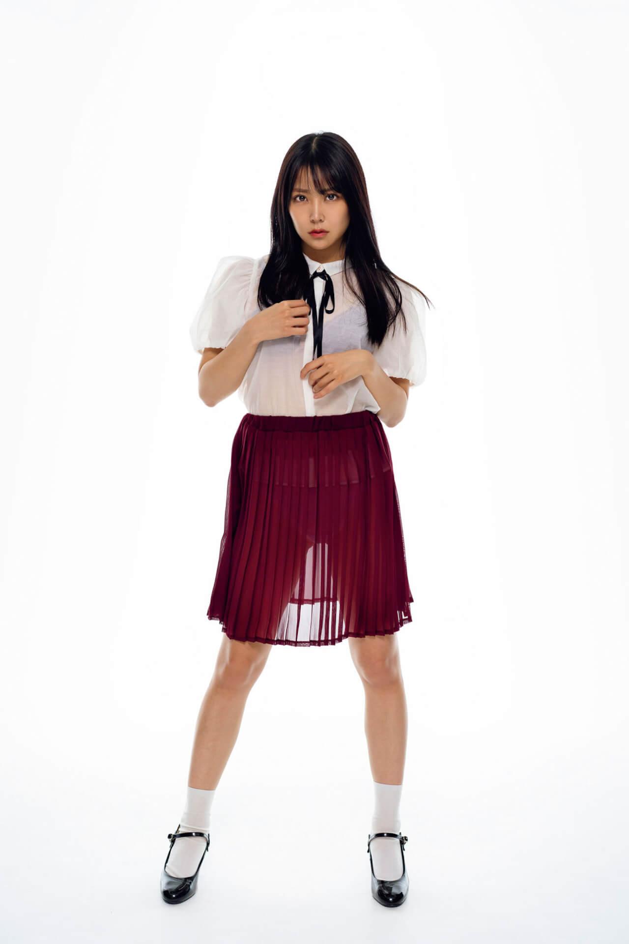 『めざましテレビ』のイマドキガール志田音々が純白のランジェリー姿を披露!『FLASH』でグラビアに挑戦 art210629_flash_2