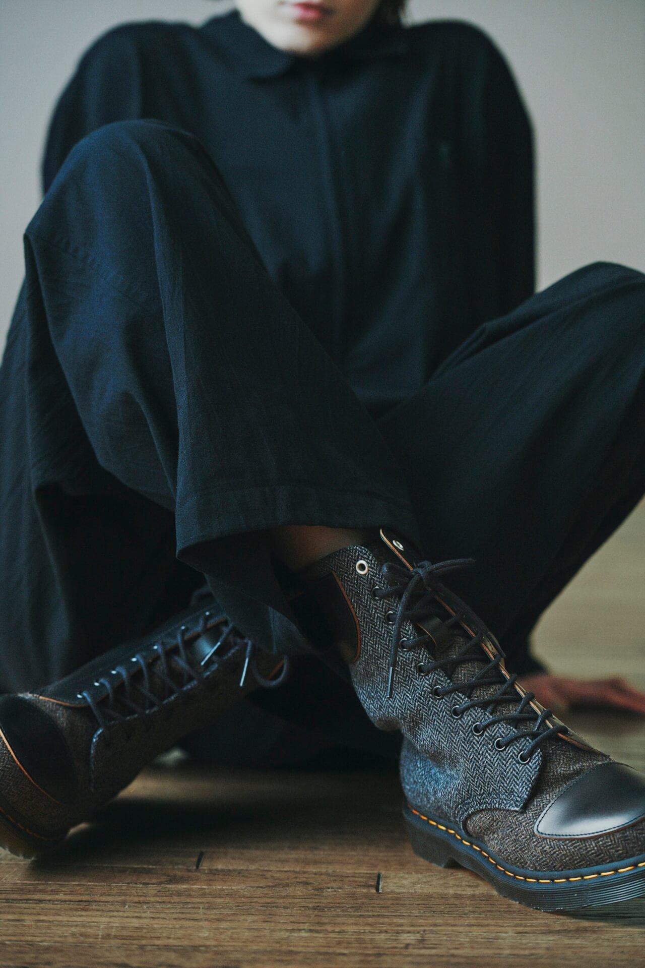 Y'sとドクターマーチンによる最新コレクション「Y's × Dr.Martens 10-EYE BOOT MOON FABRIC」が発売! 54fe8b2ef8f6781d6c7529ba9921cd26
