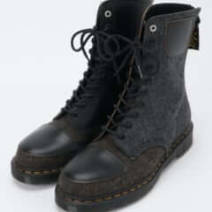Y's × Dr.Martens 10-EYE BOOT MOON FABRIC