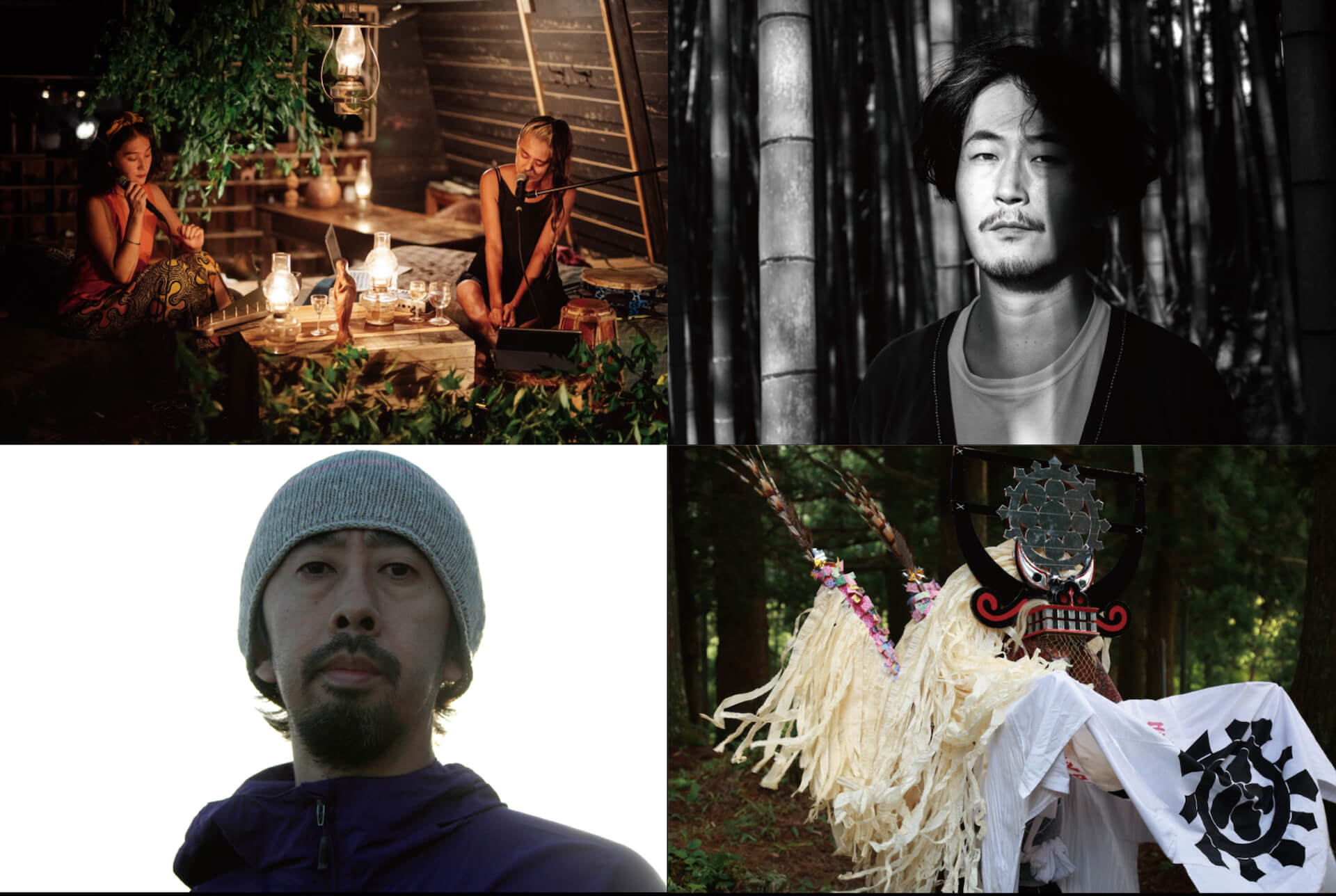 OLAibi+KOM_I、Kuniyuki Takashiらが出演するカルチャーツアー<遠野メグリトロゲ>が開催決定! culture210701_touno2