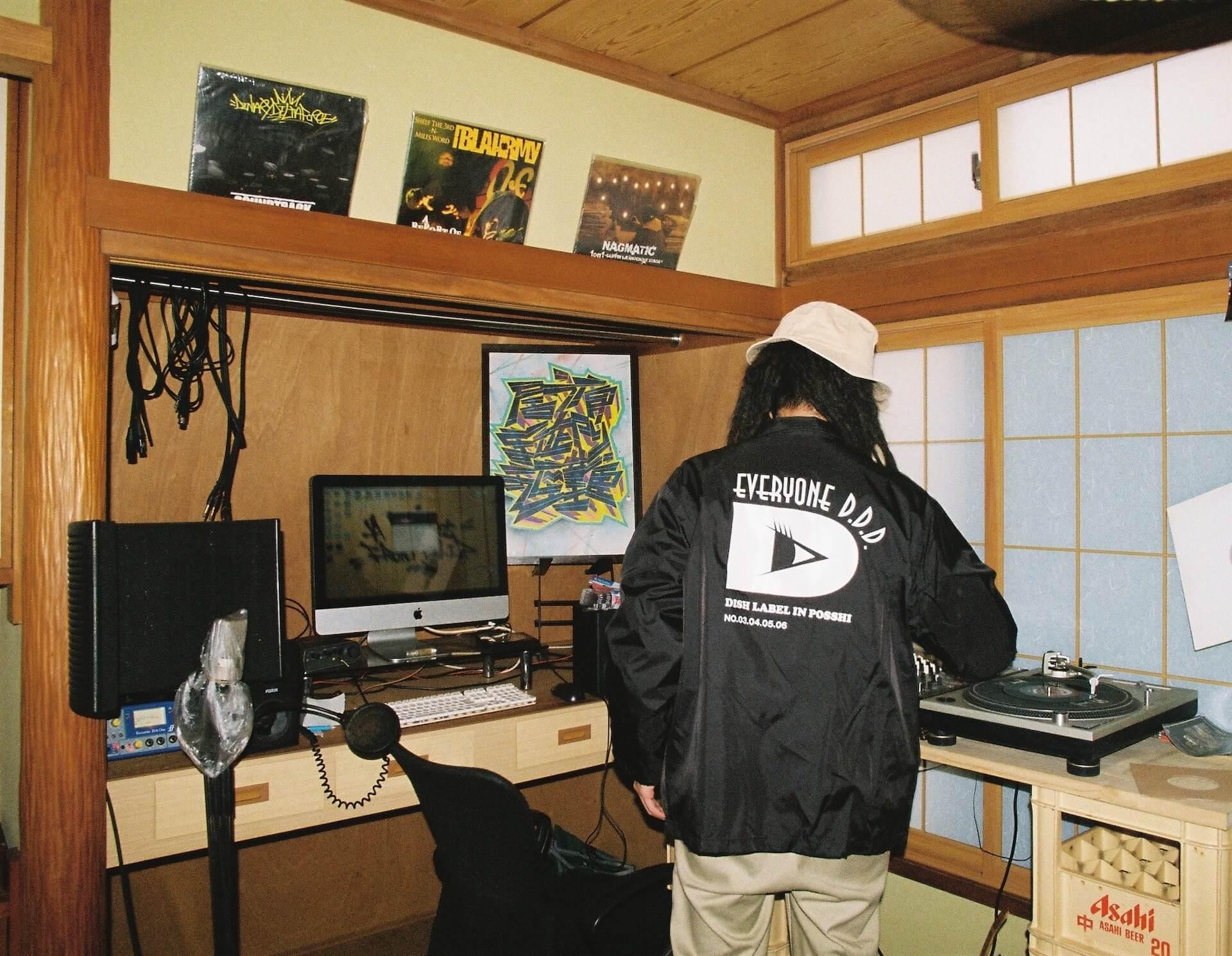 共にいる人たちへの郷愁──股旅(DUSTY HUSKY × DJ SHOKI × にっちょめ)、インタビュー interview2106-matatabi-dliprecords-6