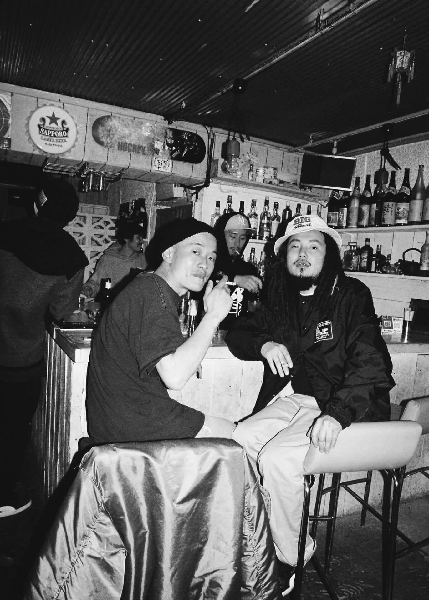 共にいる人たちへの郷愁──股旅(DUSTY HUSKY × DJ SHOKI × にっちょめ)、インタビュー interview2106-matatabi-dliprecords-10