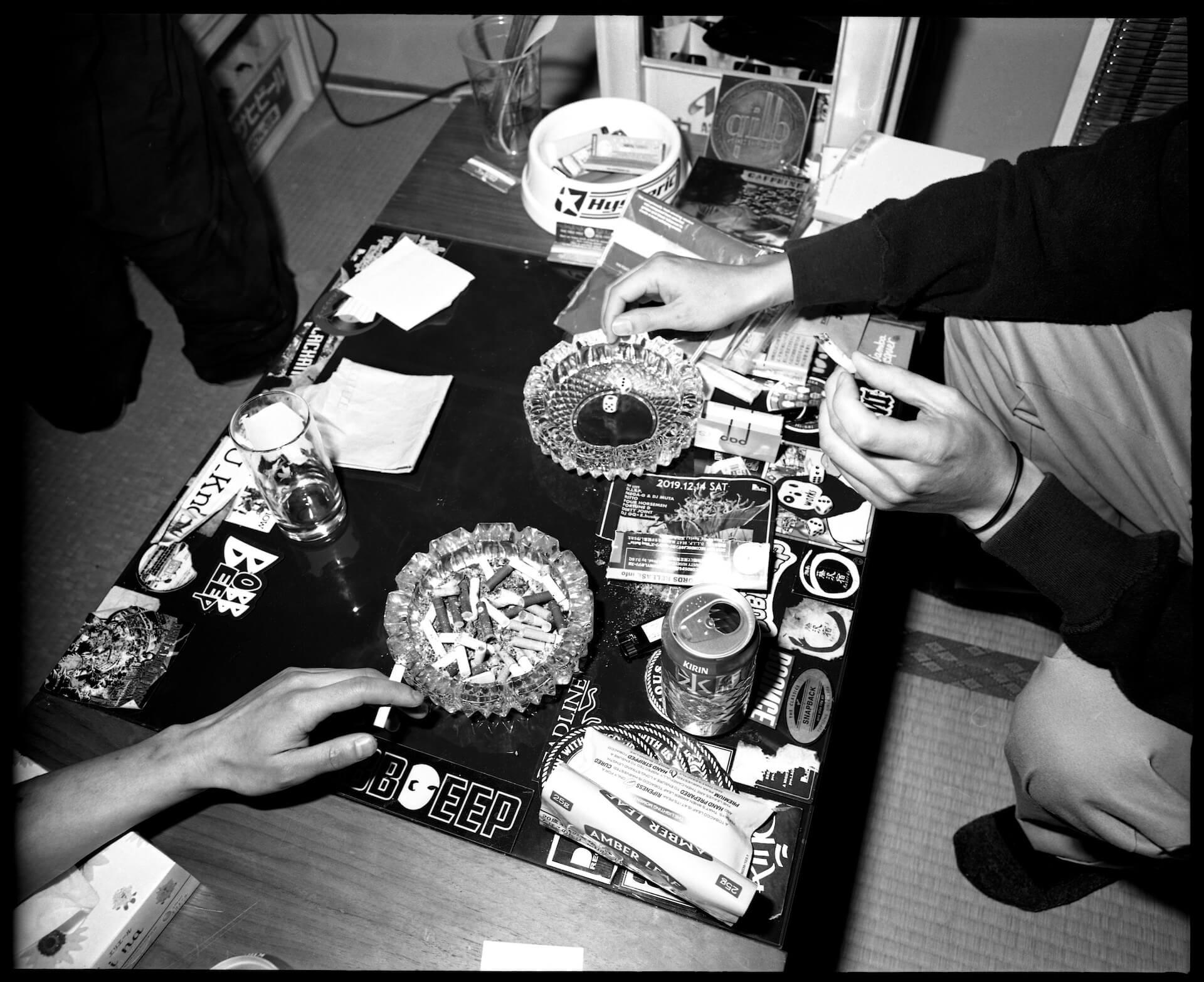 共にいる人たちへの郷愁──股旅(DUSTY HUSKY × DJ SHOKI × にっちょめ)、インタビュー interview2106-matatabi-dliprecords-11