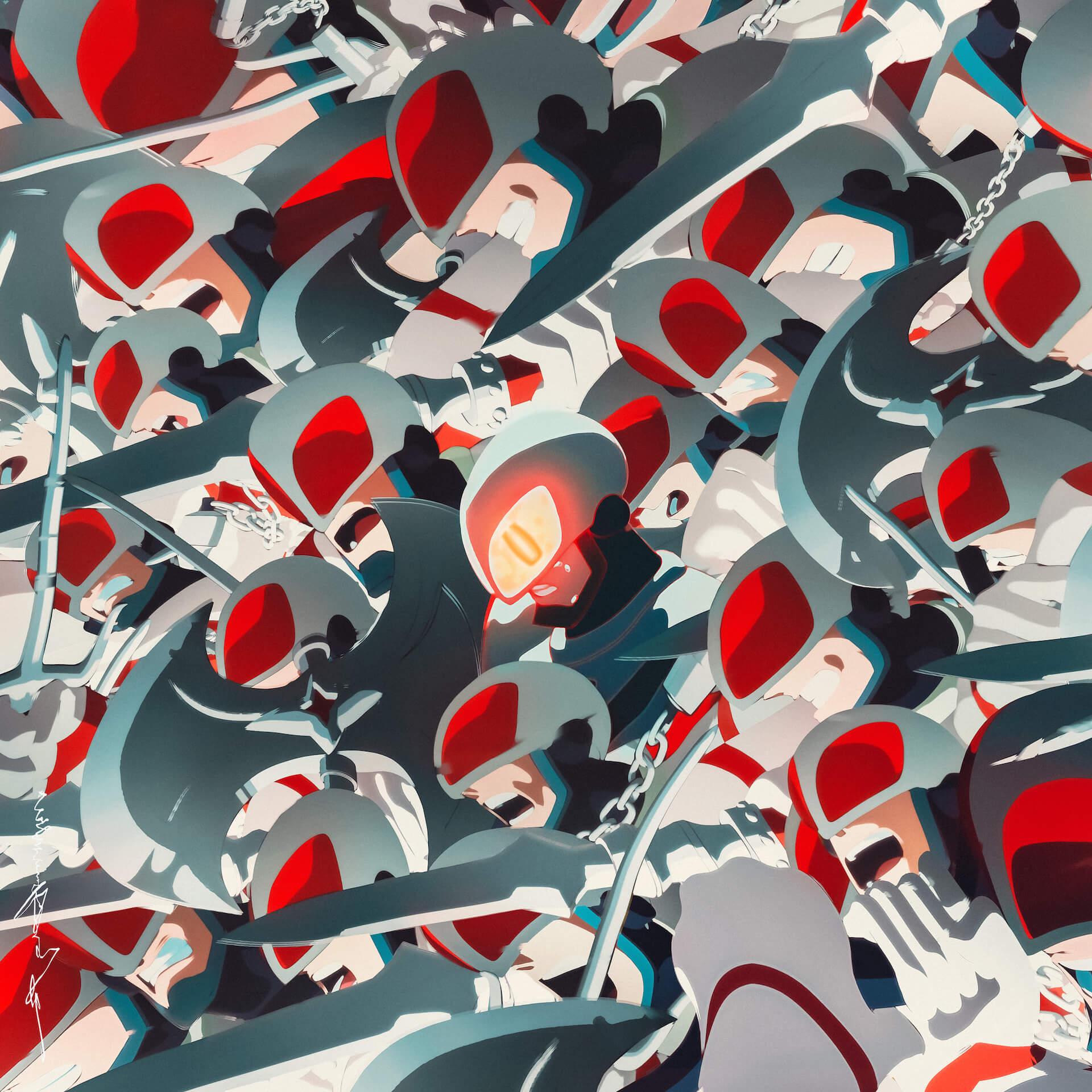millennium parade × Belle(中村佳穂)による『U』のアートワークが解禁!細田守監督最新作『竜とそばかすの姫』主題歌 music210702_millenniumparade_2
