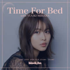 「Time for Bed」block.fm