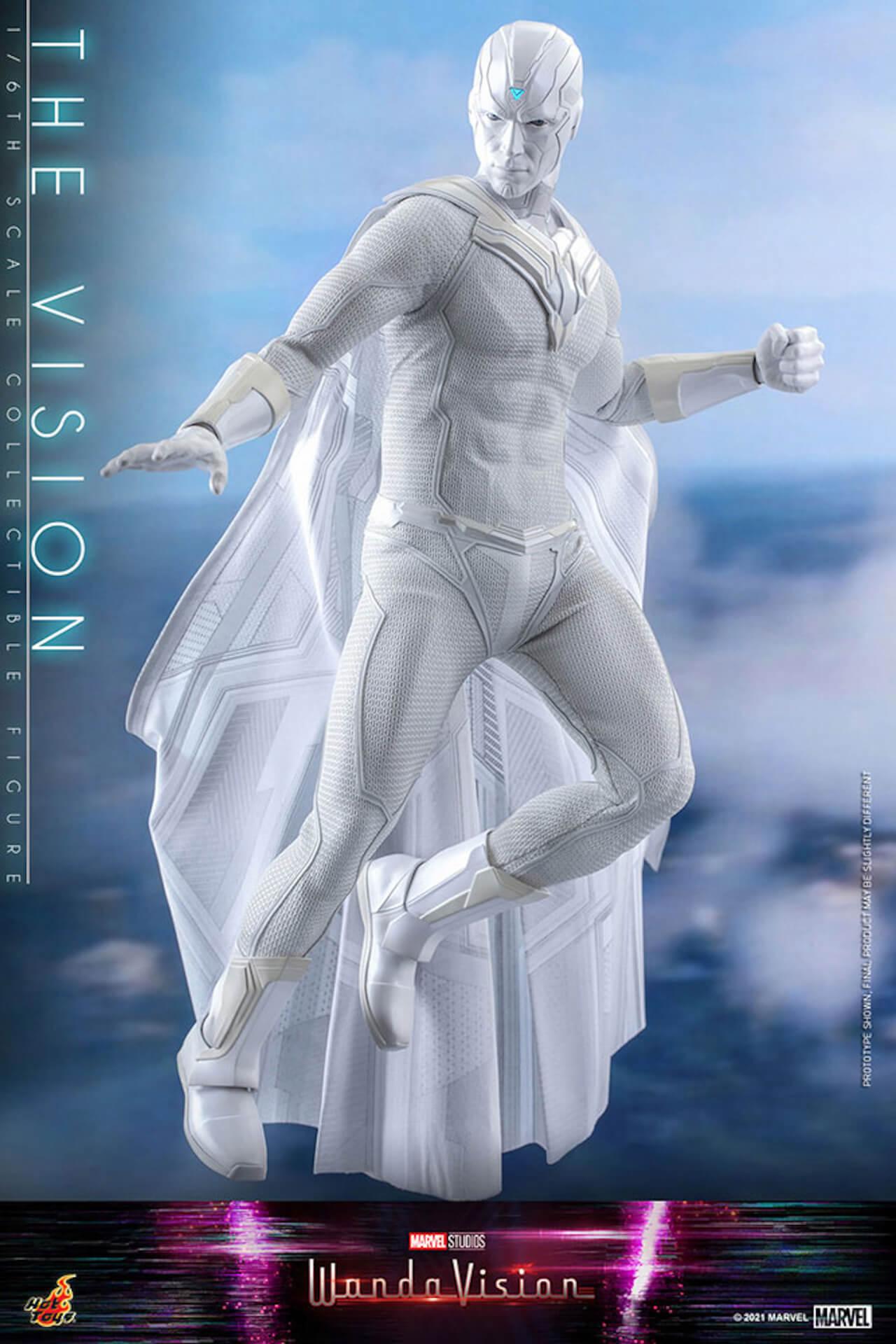マーベル・スタジオ『ワンダヴィジョン』のザ・ヴィジョンが超リアルなフィギュアになって登場!ホットトイズから発売決定 art210706_thevision_hottoys_4