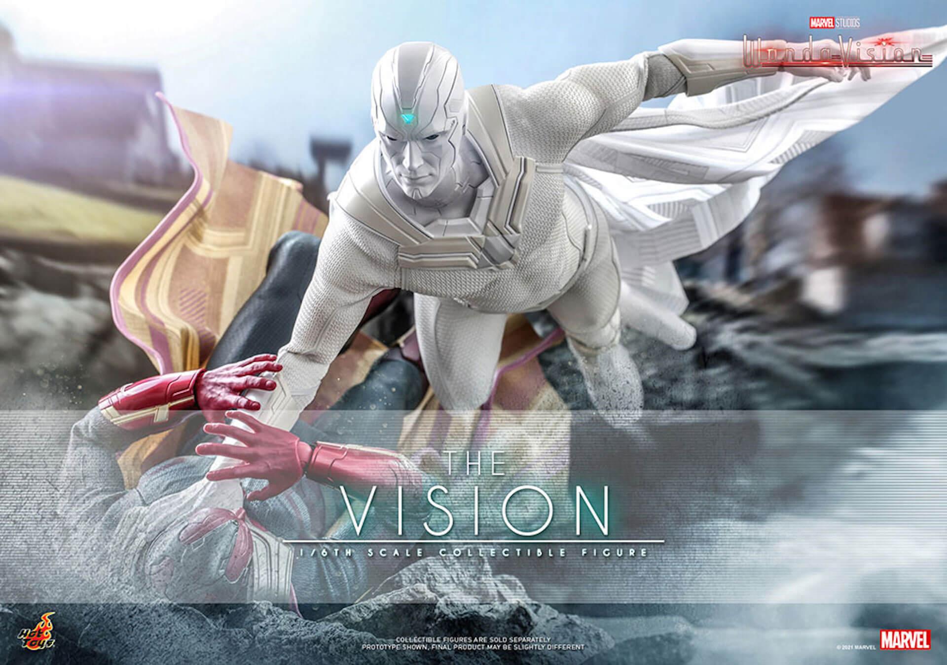 マーベル・スタジオ『ワンダヴィジョン』のザ・ヴィジョンが超リアルなフィギュアになって登場!ホットトイズから発売決定 art210706_thevision_hottoys_8