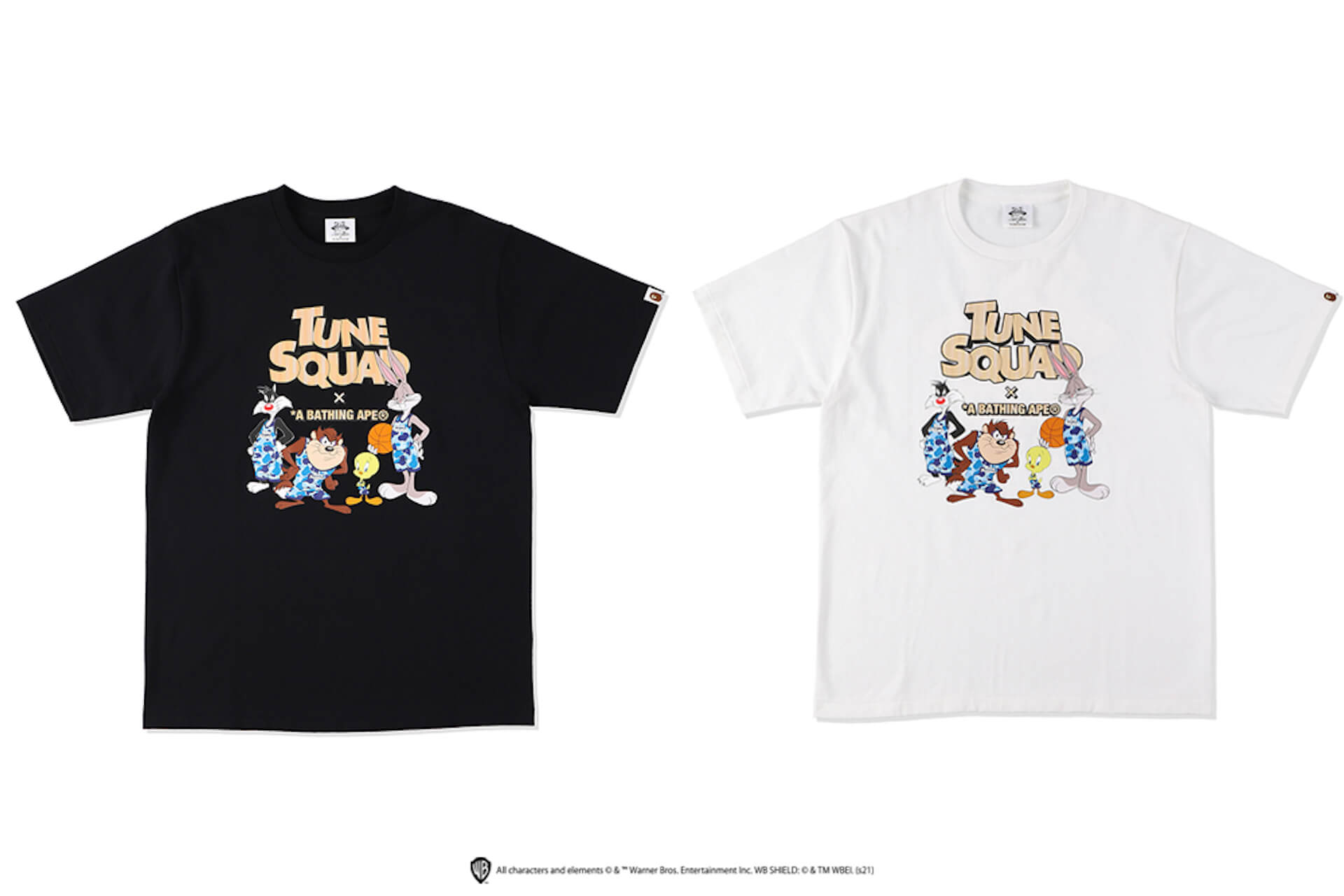 A BATHING APE(R)と 映画『SPACE JAM: A NEW LEGACY』のコラボコレクションが発売決定!モデルに八村阿蓮が起用 Fashion_210706_ape12