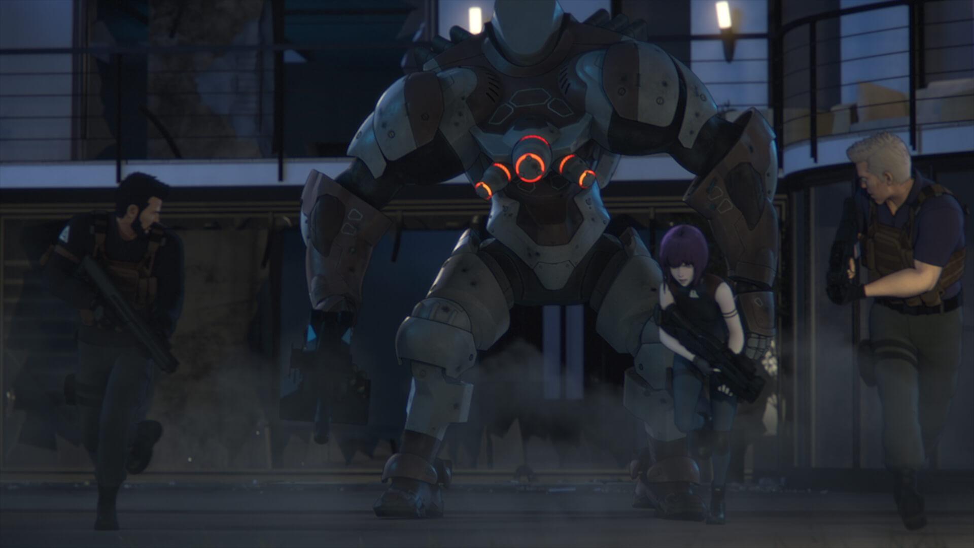 新シーンも収録した『攻殻機動隊 SAC_2045』の劇場版が公開決定!神山健治、荒牧伸志両監督からコメントも film210708_ghostintheshell_8