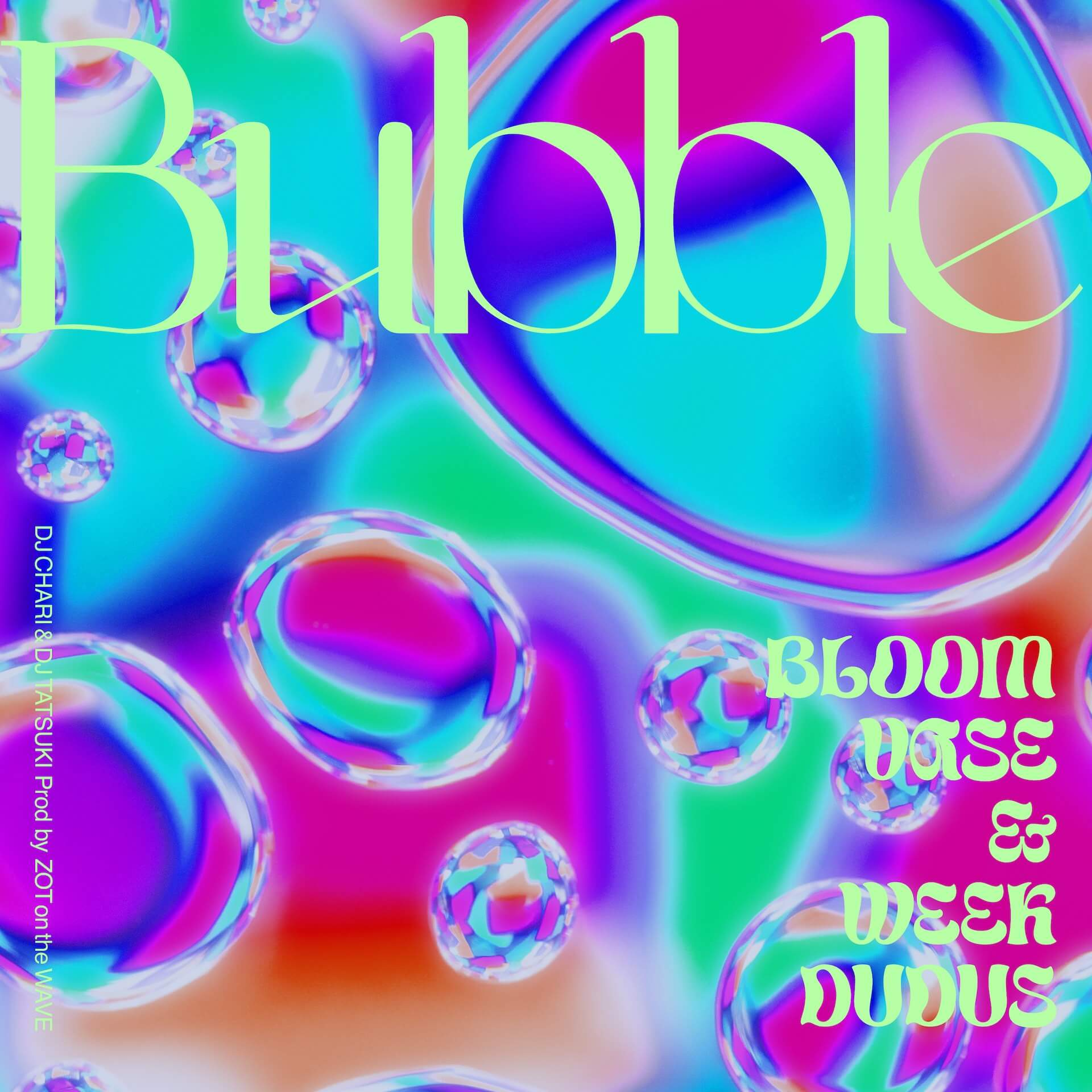 "DJ CHARI & DJ TATSUKIが3週連続シングルリリース第2弾""Bubble""を発表!MVも公開に music_210712_bubble"
