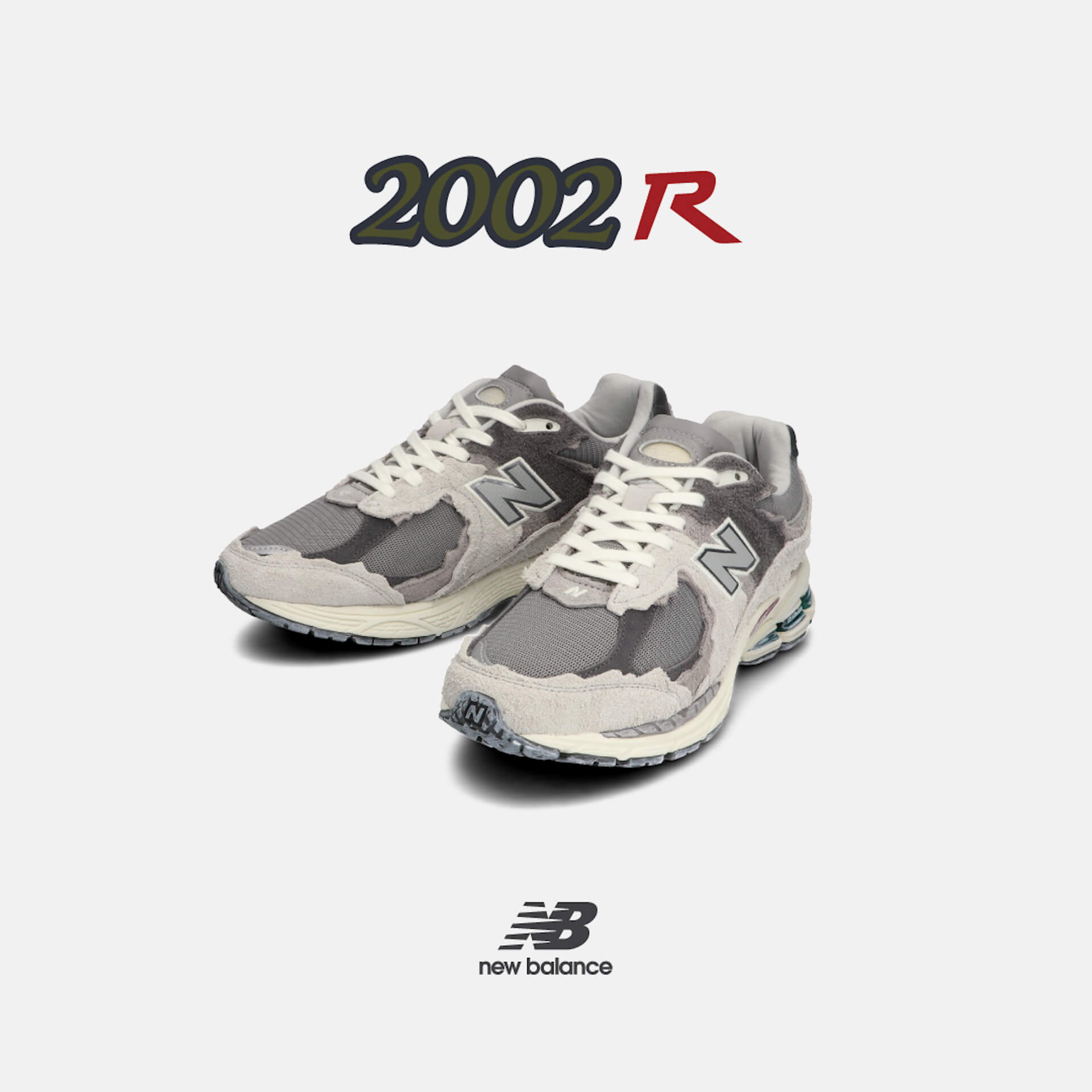 ニューバランス「2002R」シリーズ新作3色が発売決定!ヴィンテージ加工が印象的な3モデル life210712_newbalance_2002r_2