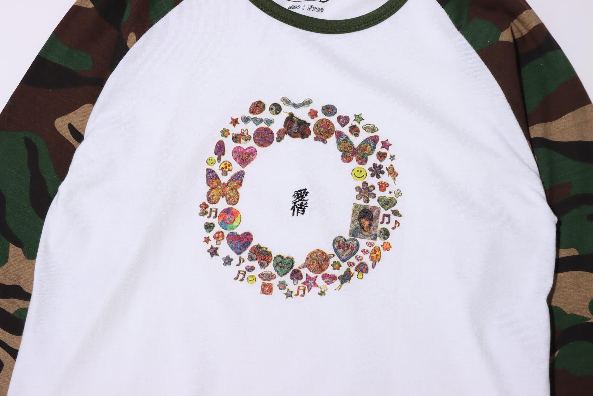 酒井いぶきとatmos pinkのコラボレーションアパレルが発売決定!アイテムデコレーションを楽しむ<ペタペタ会>も開催 Fashion_210712_ibuki-sakai4