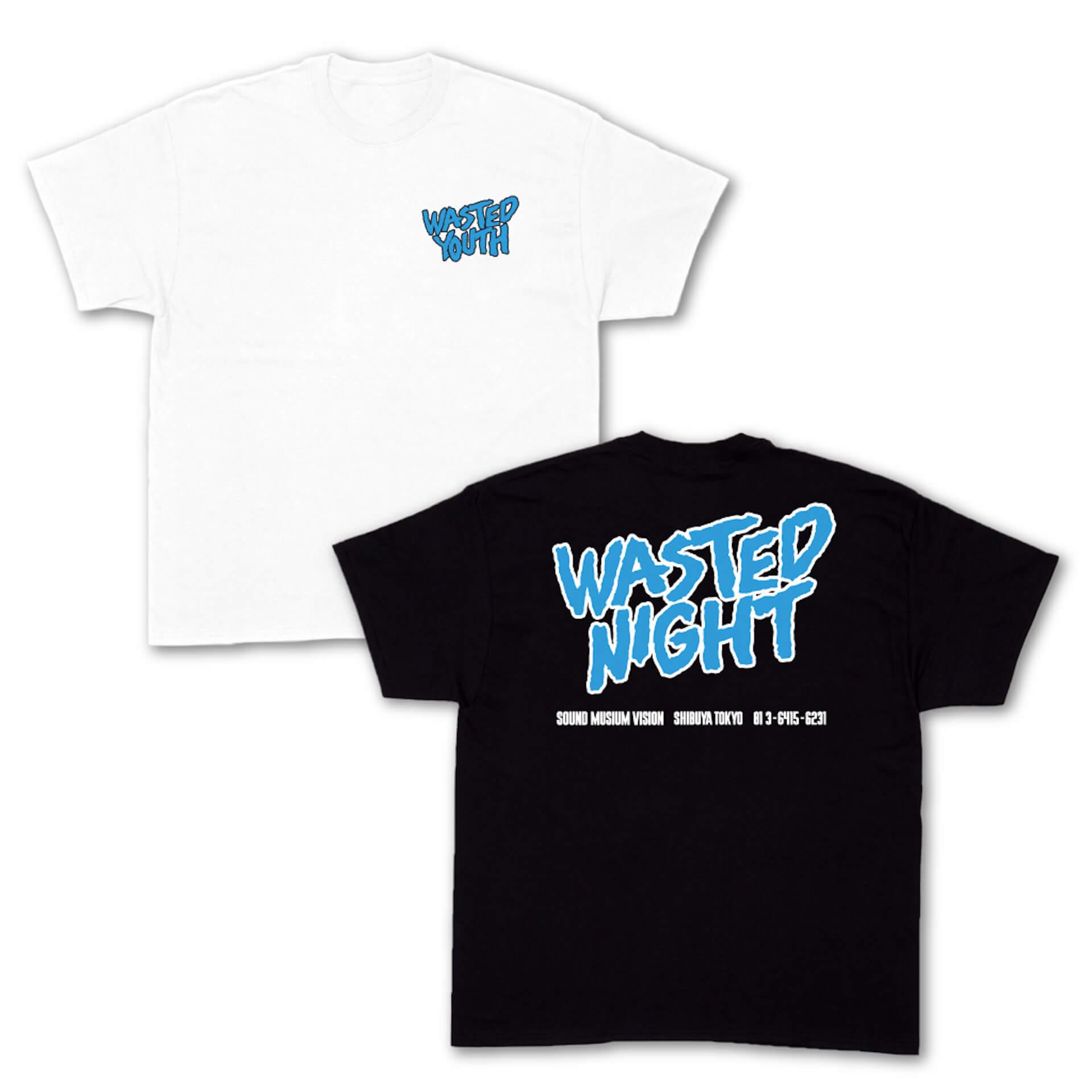 Contact Tokyo&SOUND MUSEUM VISIONのオリジナルデザインTシャツが発売決定!野村訓市、UNDERCOVER、VERDY、YAGIが参加 life210713_contact_vision_2