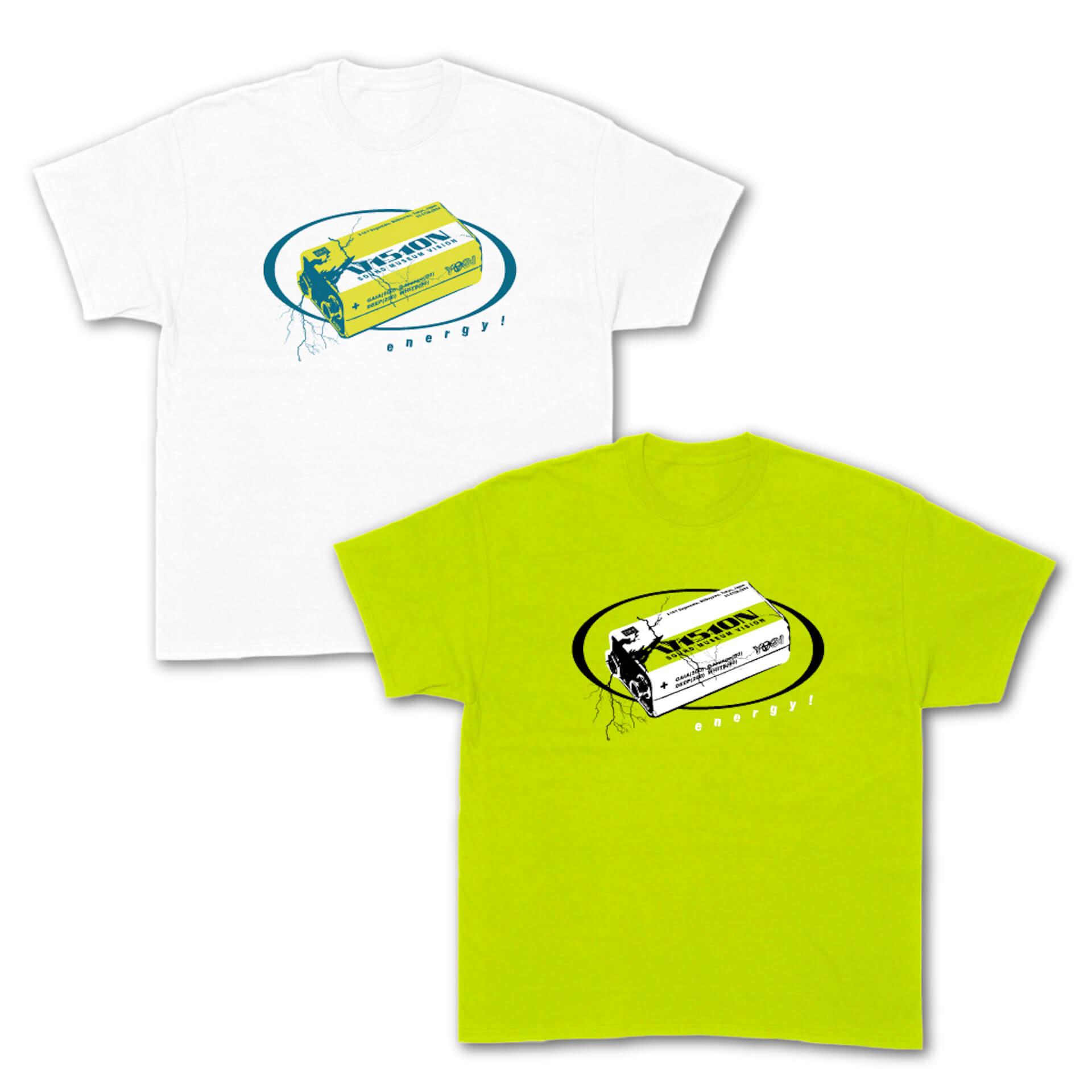 Contact Tokyo&SOUND MUSEUM VISIONのオリジナルデザインTシャツが発売決定!野村訓市、UNDERCOVER、VERDY、YAGIが参加 life210713_contact_vision_3
