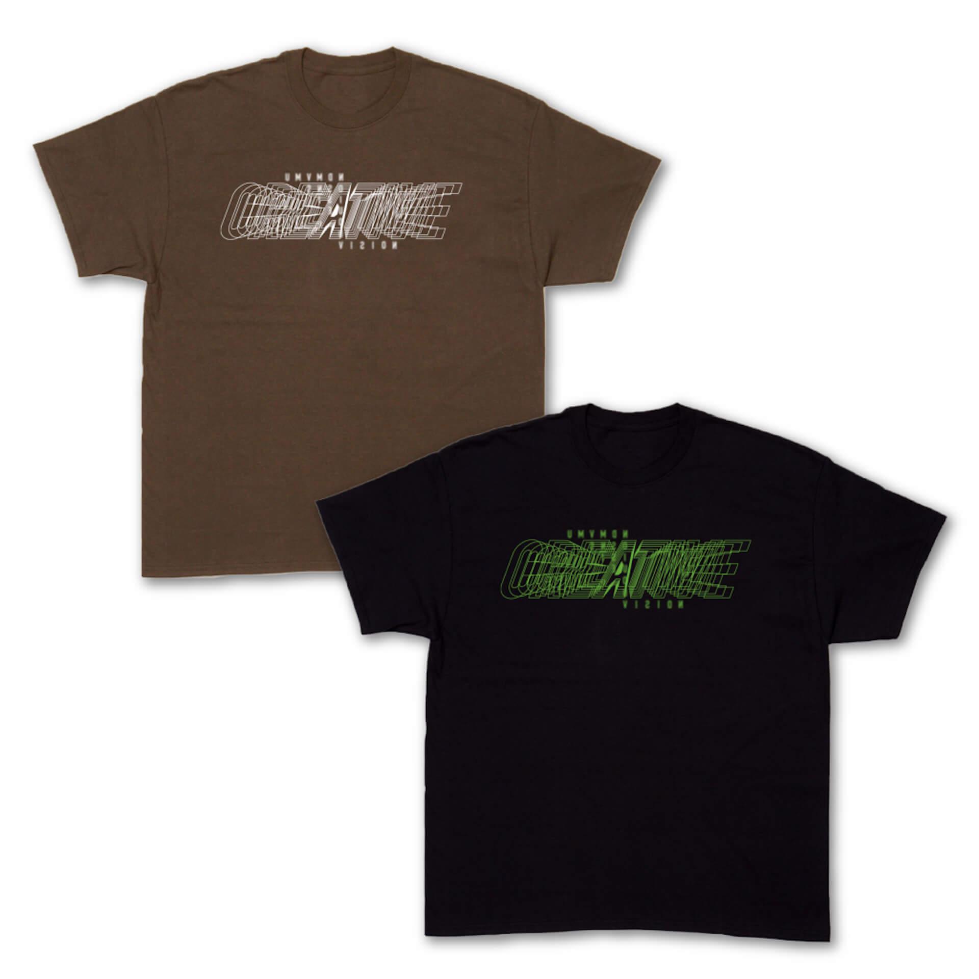 Contact Tokyo&SOUND MUSEUM VISIONのオリジナルデザインTシャツが発売決定!野村訓市、UNDERCOVER、VERDY、YAGIが参加 life210713_contact_vision_5
