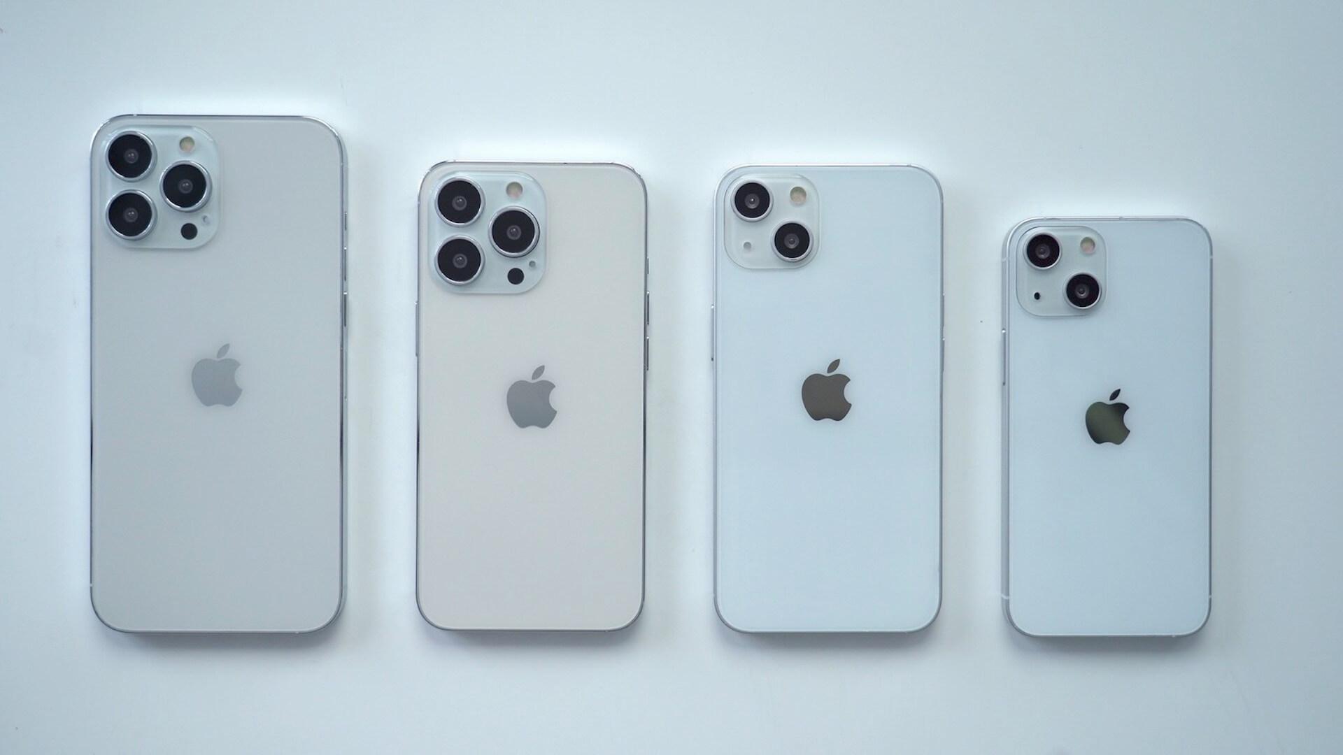 今年9月発表とうわさのiPhone 13シリーズ4モデルのダミー機画像が公開! tech210713_iphone13_1