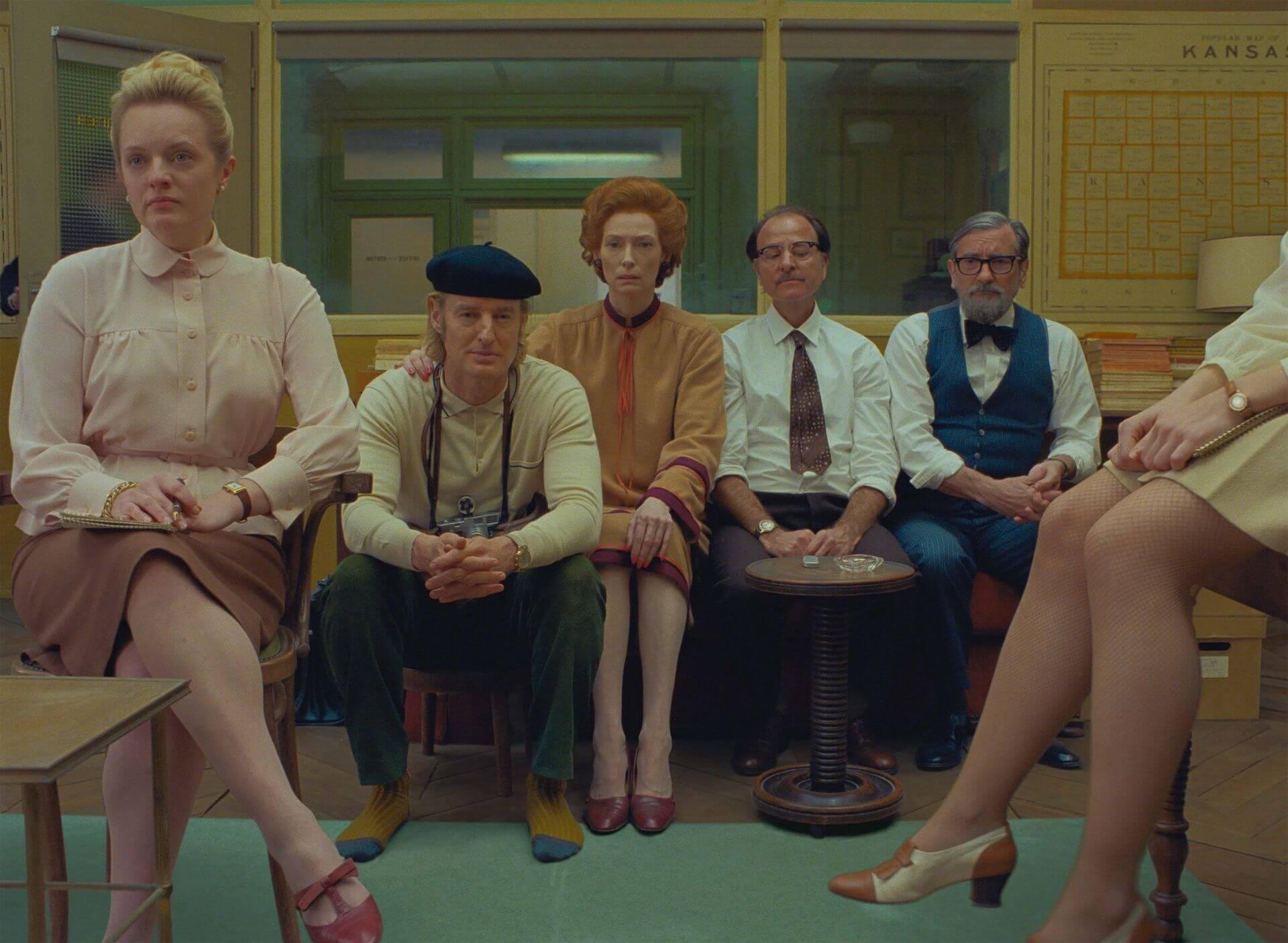 ウェス・アンダーソン監督最新作『フレンチ・ディスパッチ』がカンヌ国際映画祭・コンペティション部門正式出品!ティモシー・シャラメらも集うレッド・カーペットの写真が公開 film210713_thefrenchdispatch_12