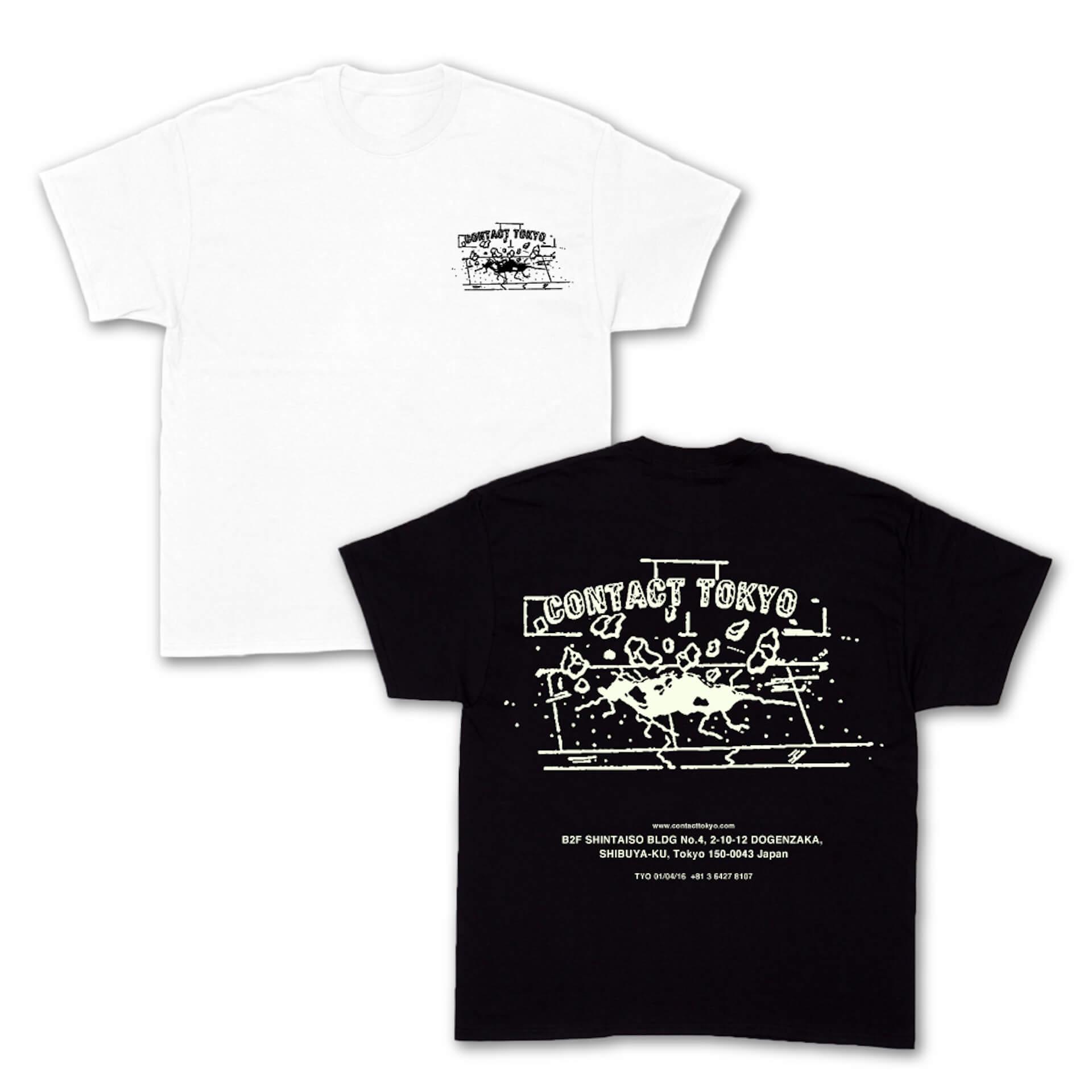 Contact Tokyo&SOUND MUSEUM VISIONのオリジナルデザインTシャツが発売決定!野村訓市、UNDERCOVER、VERDY、YAGIが参加 life210713_contact_vision_8