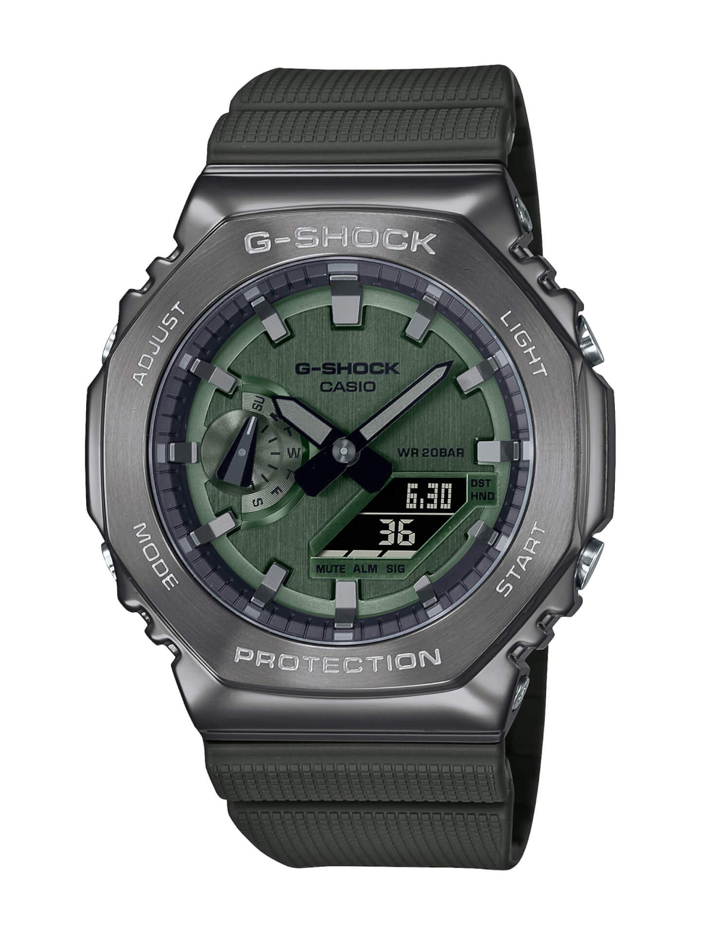 G-SHOCKにメタルベゼルを採用した新モデル2種が登場!『GM-2100』&『GM-S2100』が発売決定 tech210715_gshock_metal_5