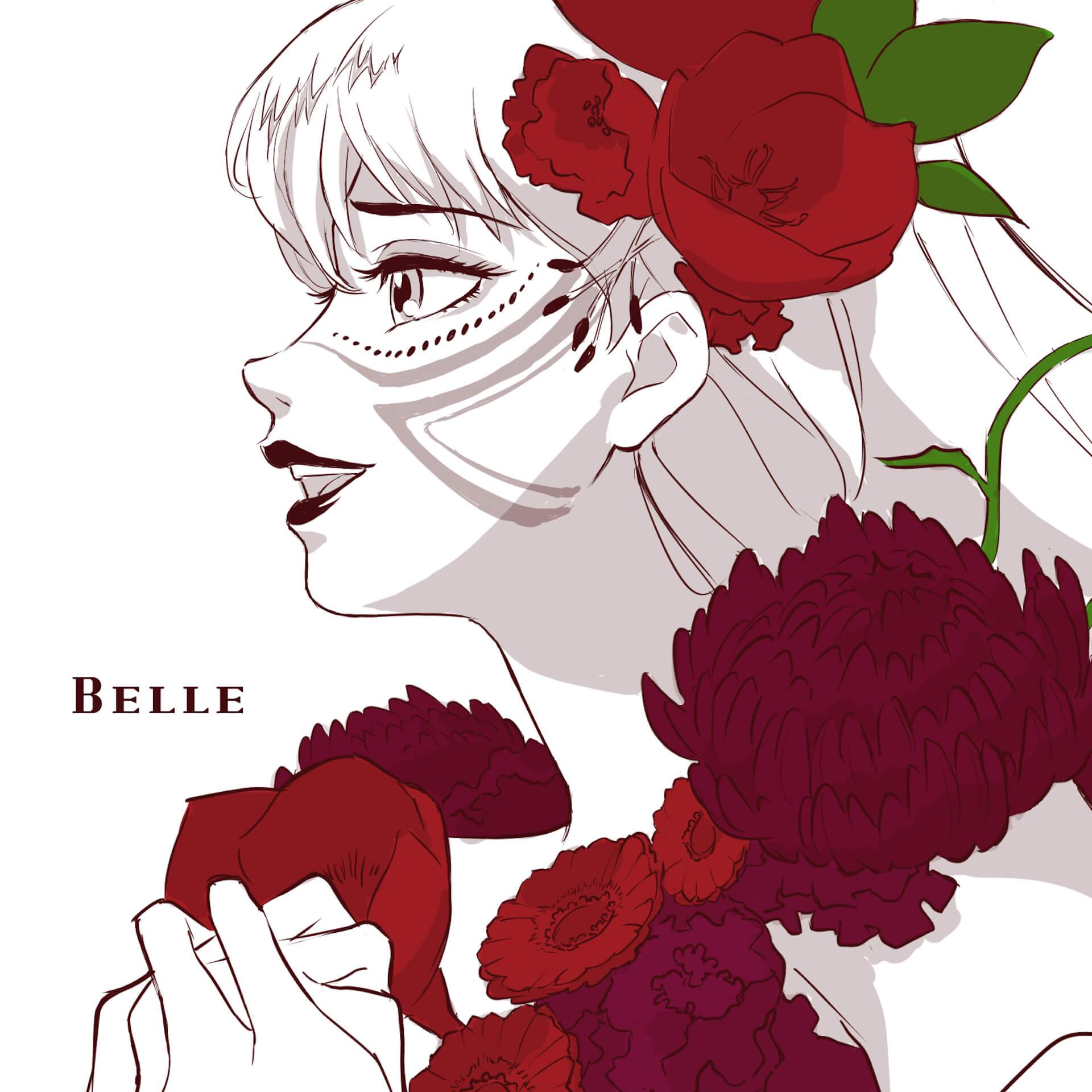 """『竜とそばかすの姫』でBelleを演じる中村佳穂による劇中歌""""歌よ""""が先行配信スタート!MVも同時公開 music210716_belle_millenniumparade_3"""