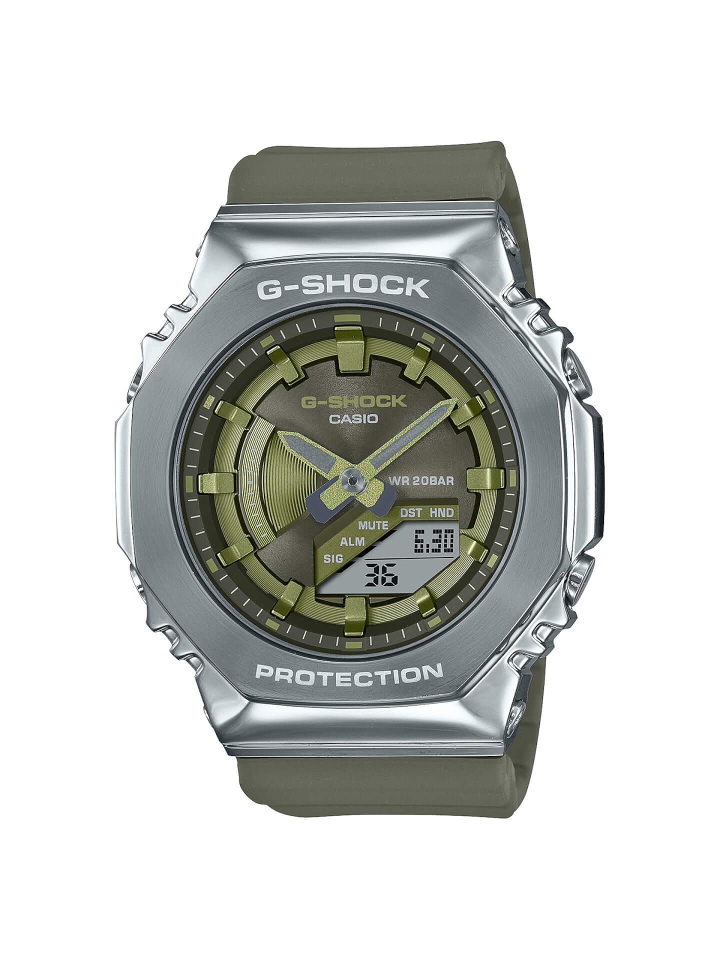 G-SHOCKにメタルベゼルを採用した新モデル2種が登場!『GM-2100』&『GM-S2100』が発売決定 tech210715_gshock_metal_13