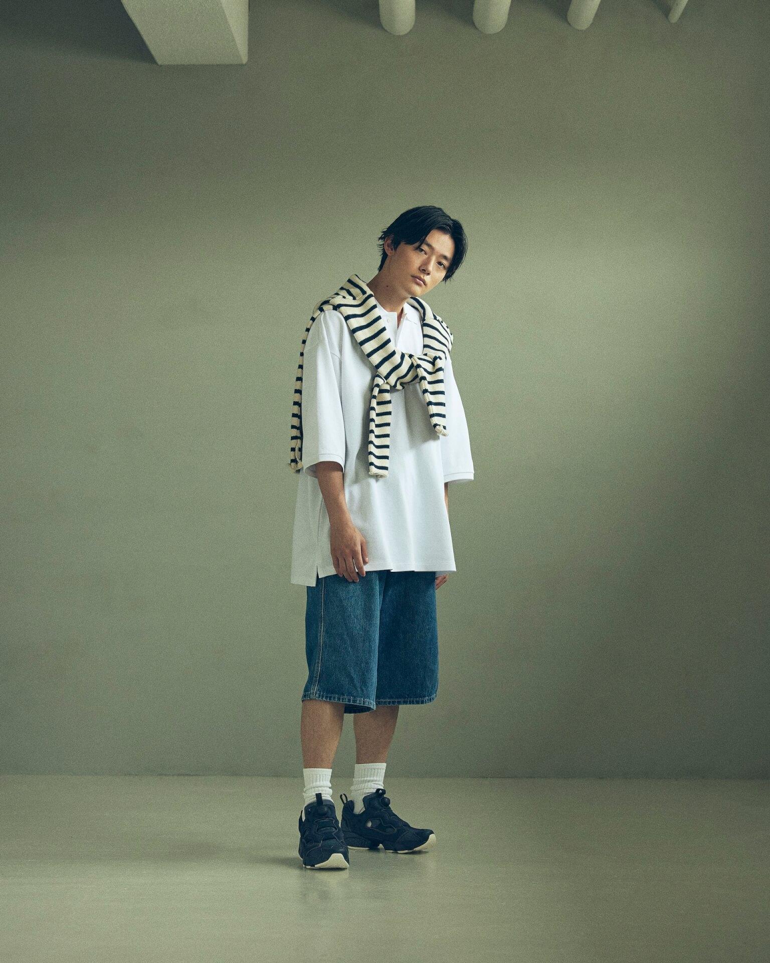 ReebokからリアルなデニムをイメージしたINSTAPUMP FURYの「DENIM PACK」が発売!櫻井海音とアンジュルム佐々木莉佳子がルックに登場 Fashion_210719_denimpack15