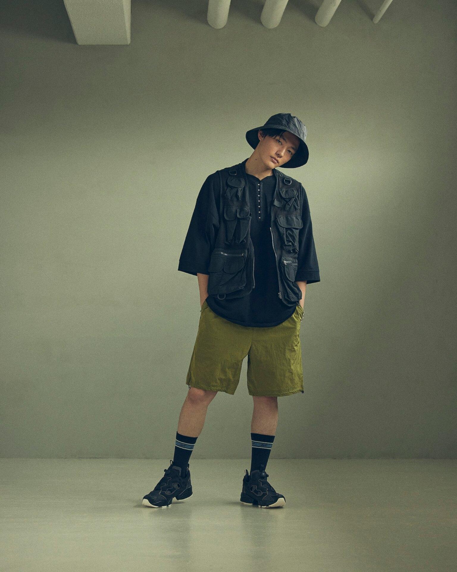 ReebokからリアルなデニムをイメージしたINSTAPUMP FURYの「DENIM PACK」が発売!櫻井海音とアンジュルム佐々木莉佳子がルックに登場 Fashion_210719_denimpack1