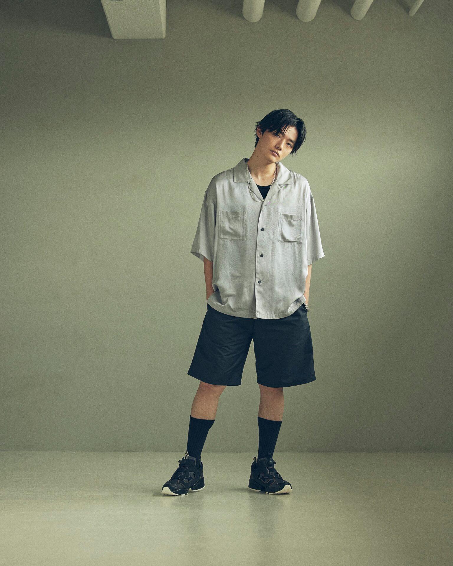 ReebokからリアルなデニムをイメージしたINSTAPUMP FURYの「DENIM PACK」が発売!櫻井海音とアンジュルム佐々木莉佳子がルックに登場 Fashion_210719_denimpack12
