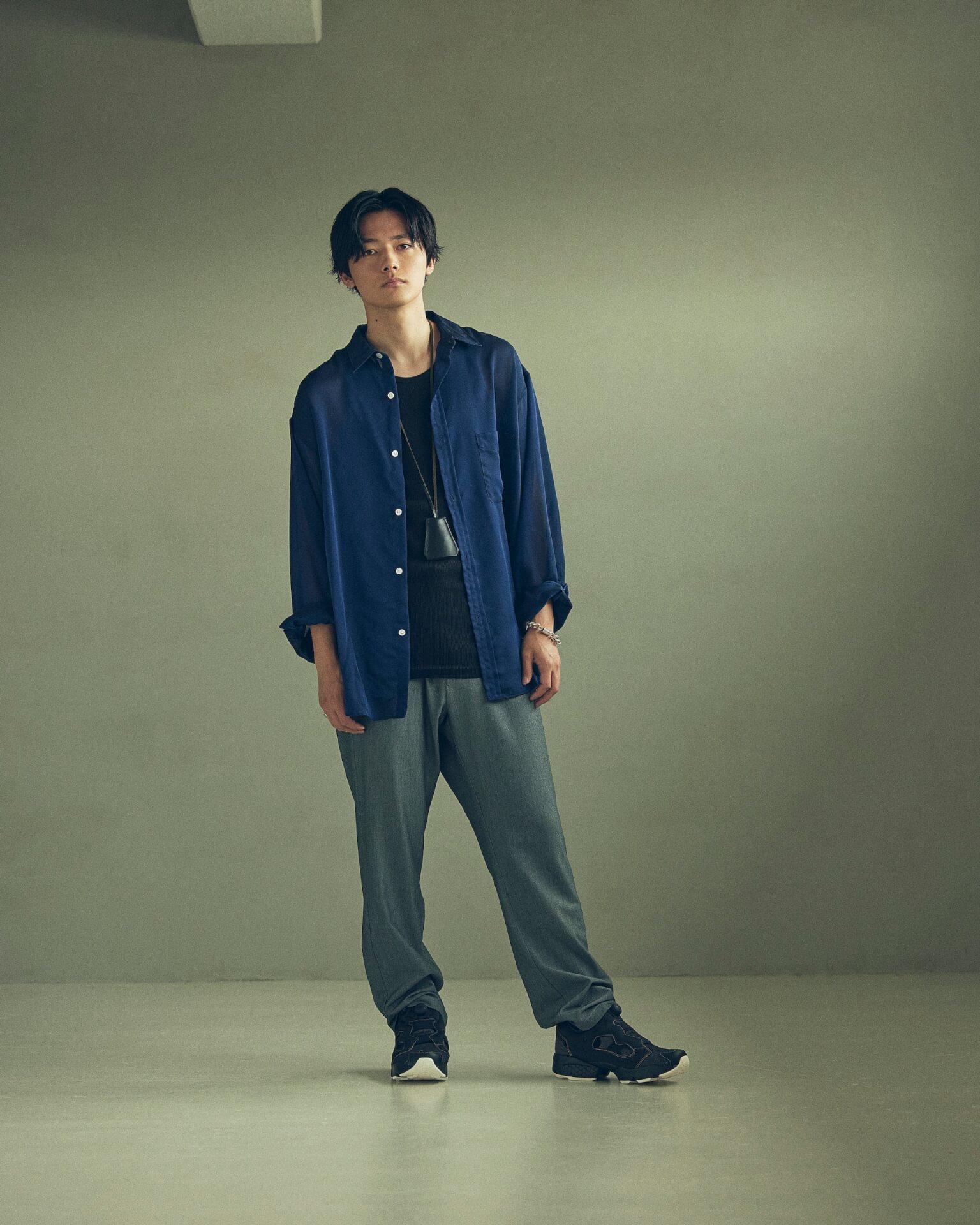 ReebokからリアルなデニムをイメージしたINSTAPUMP FURYの「DENIM PACK」が発売!櫻井海音とアンジュルム佐々木莉佳子がルックに登場 Fashion_210719_denimpack13