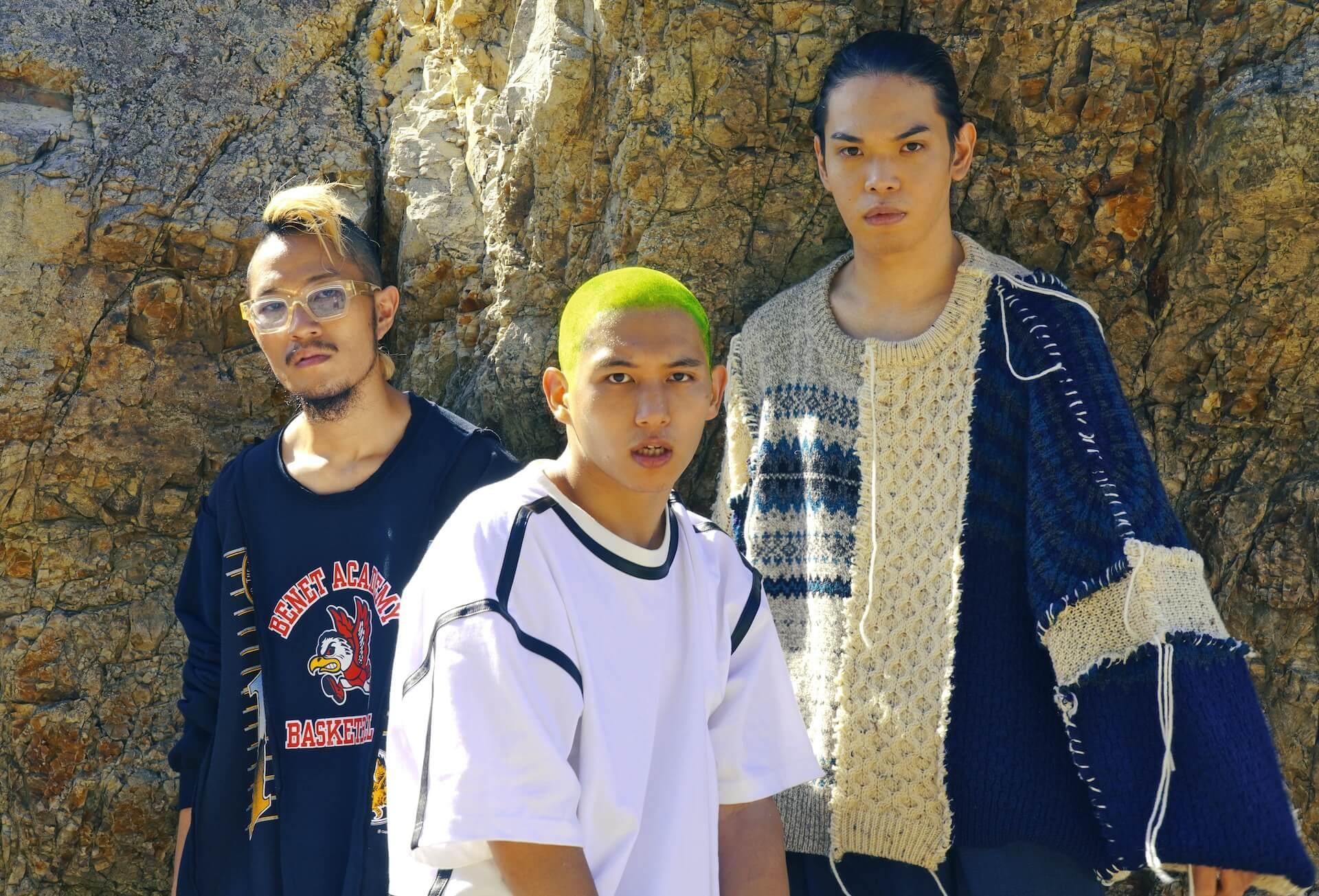 Dos Monosが2ndアルバム『DosSiki』のリメイクアルバムを発表!崎山蒼志、black midi、SMTKらが参加 music_210720_Dos-monos1