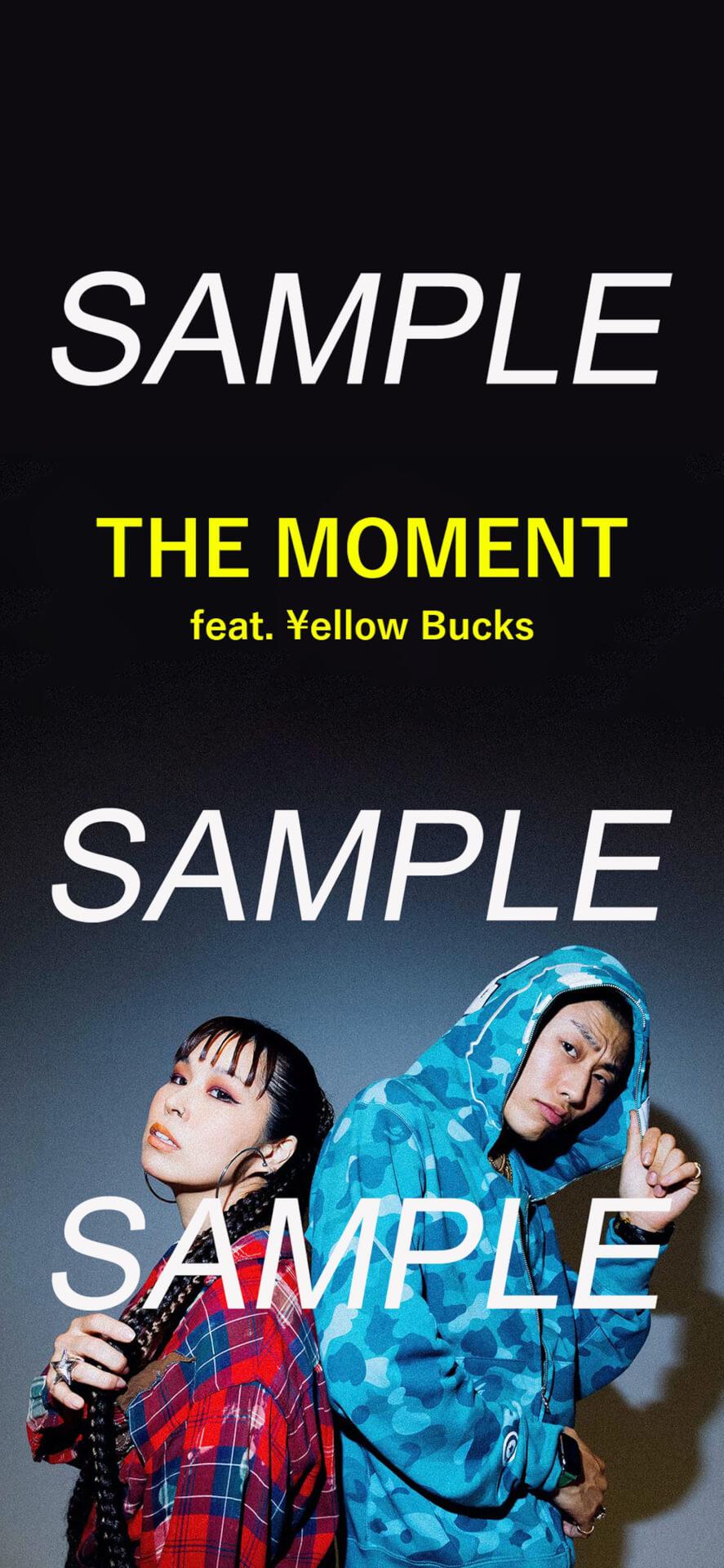 """AIと¥ellow Bucksのコラボ曲""""THE MOMENT""""のSpotify SNSシェアキャンペーンがスタート! music_210720_AI2"""