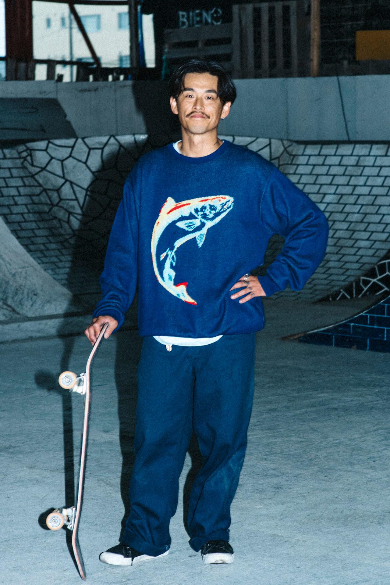 PSEUDOSとCHAOS FISHING CLUBの新作が発売に|LOOKのモデルは丸山晋太郎、撮影は堀裕輝、荒川晋作 life-fashion210724_PSEUDOS_CHAOS-FISHING-CLUB_2